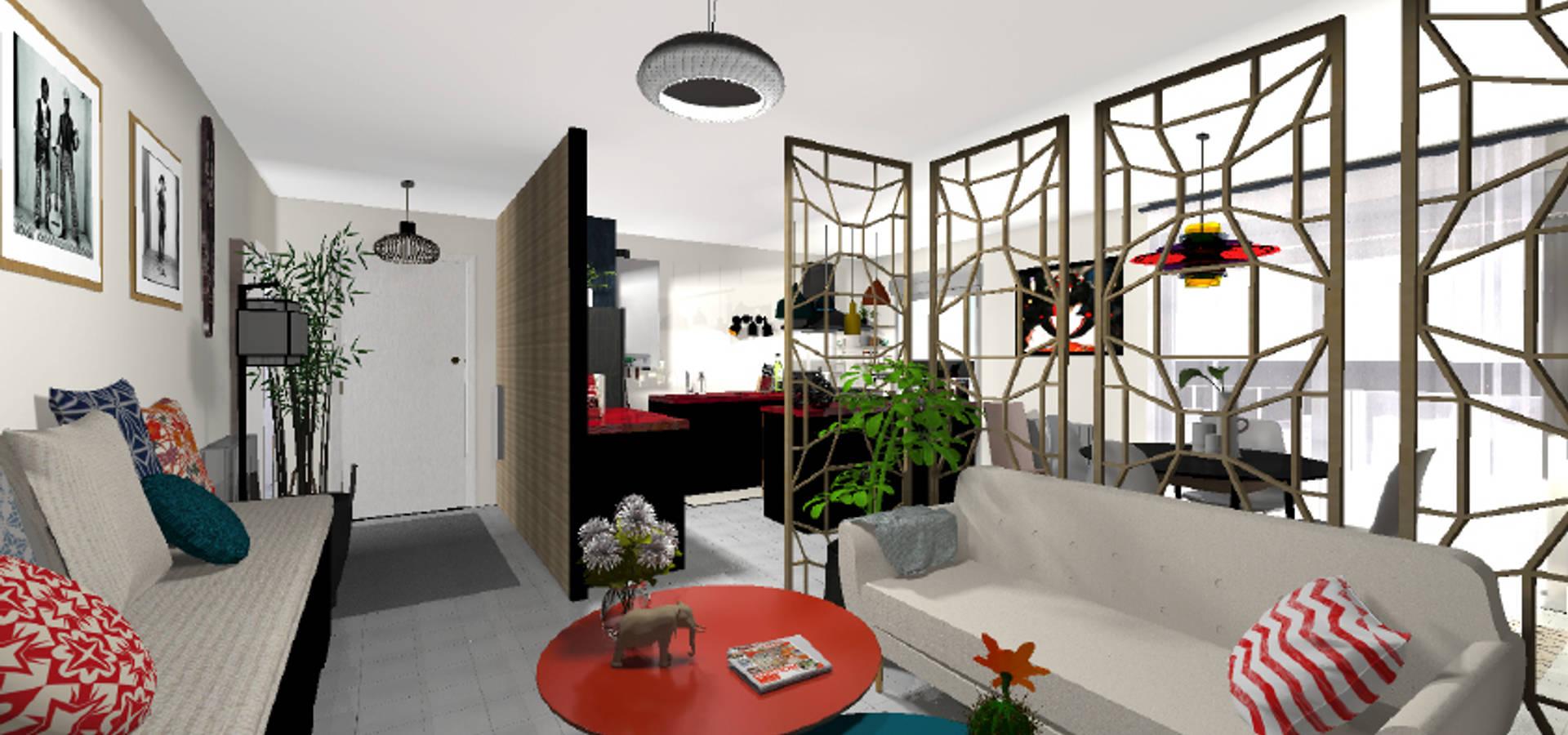 aménagement d'un appartement de 70m2 en isère par sonia haddon