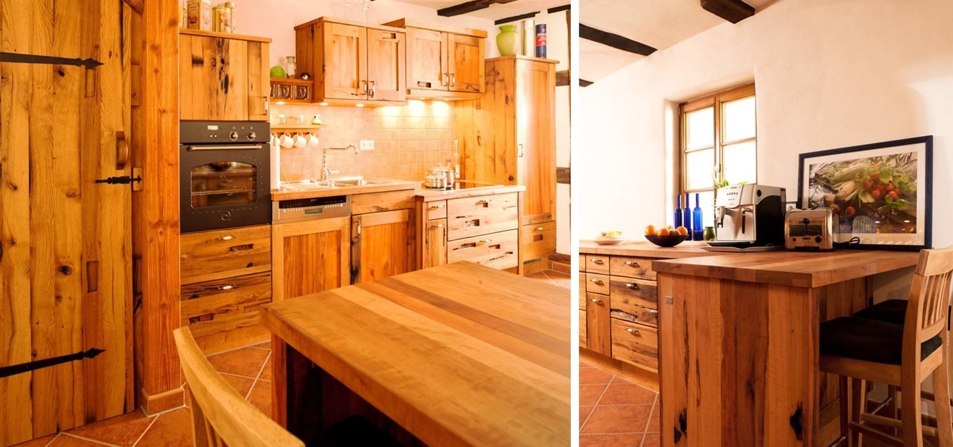 Runde kuche de pfister mobelwerkstatt gdbr homify for Runde küche