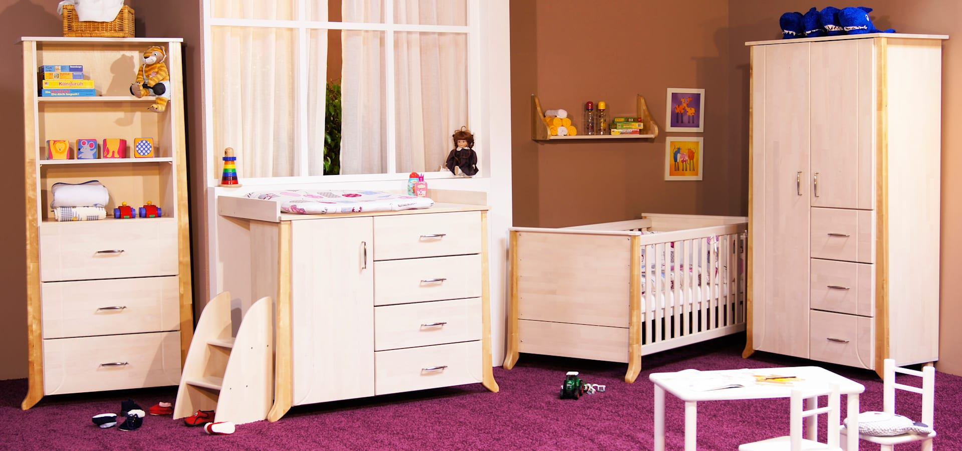 kinderzimmer nostalgie im landhausstil de taube kinder. Black Bedroom Furniture Sets. Home Design Ideas