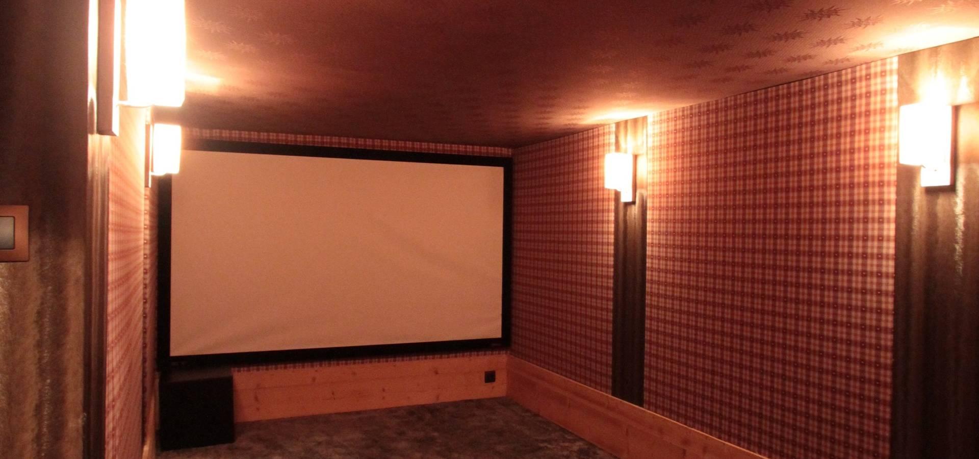 Salle De Cinema Et Home Cinema By Design Et Interieur Homify
