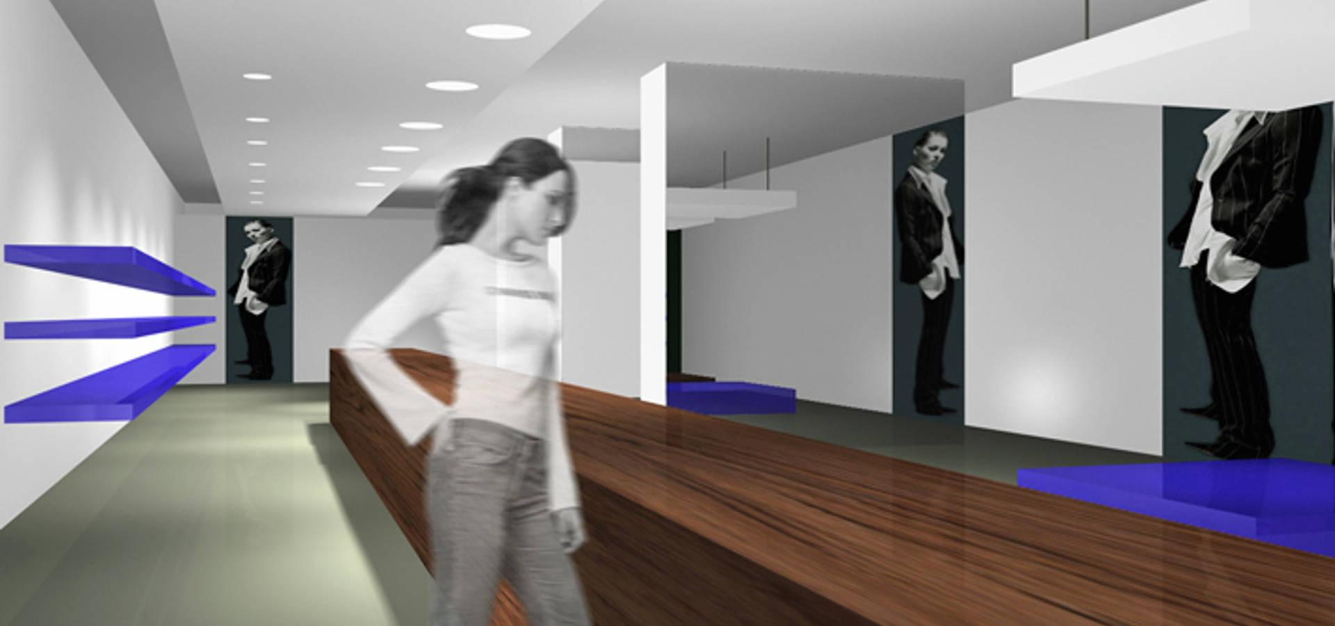 Küchenzeile design  SW Retail + Interior Design: Küche SW 30 MDF schwarz | homify