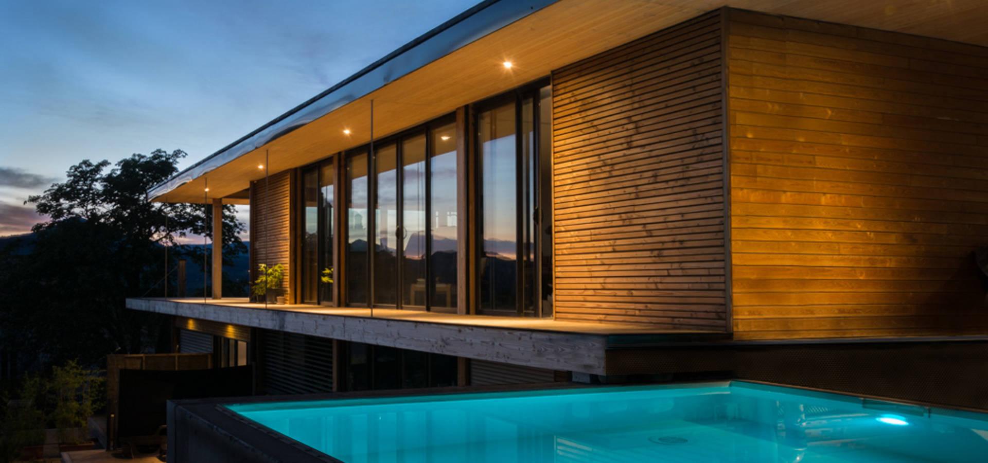 Maison moderne bois von SARL naturARCH | homify