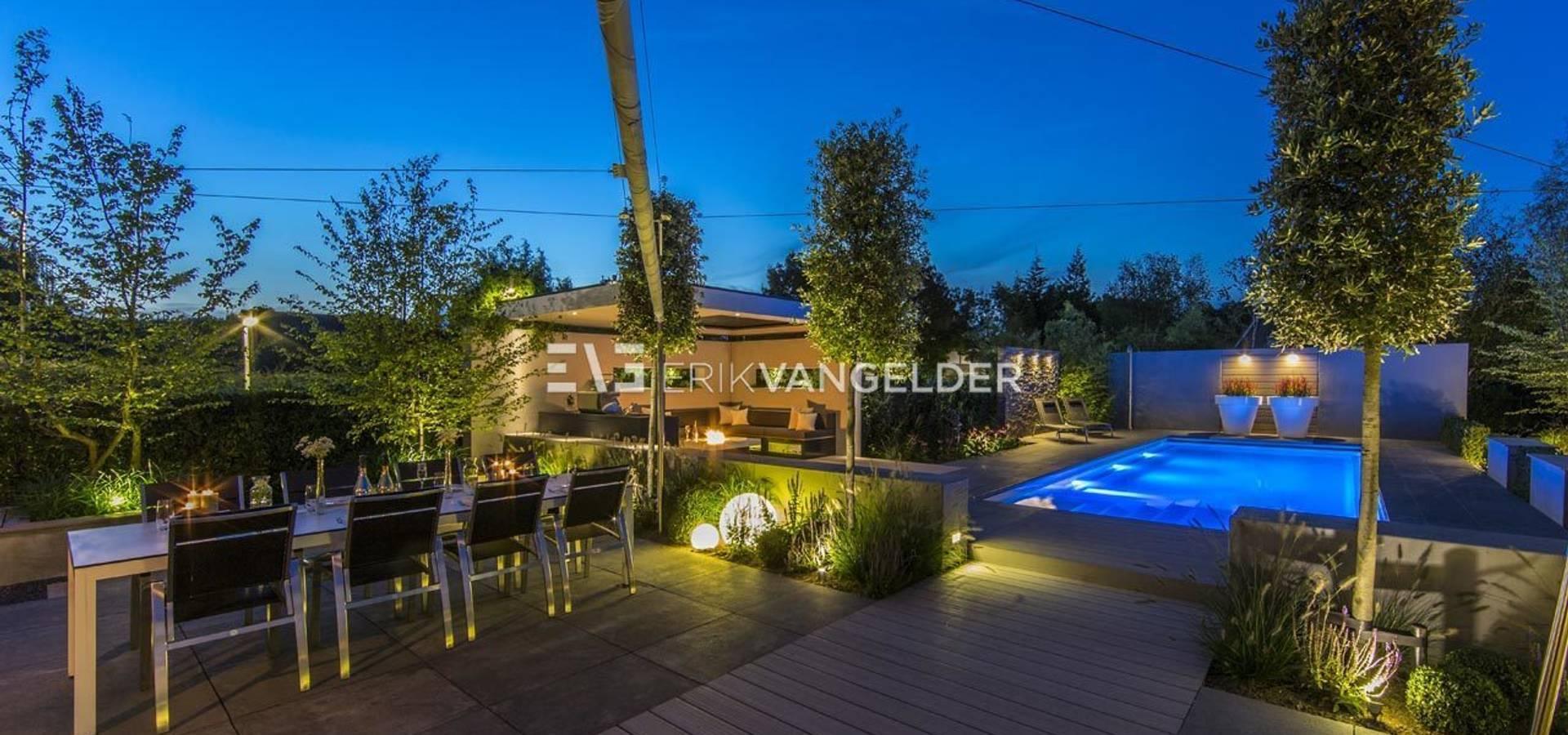 Wellness garden with pool Barendrecht von ERIK VAN GELDER | Devoted ...