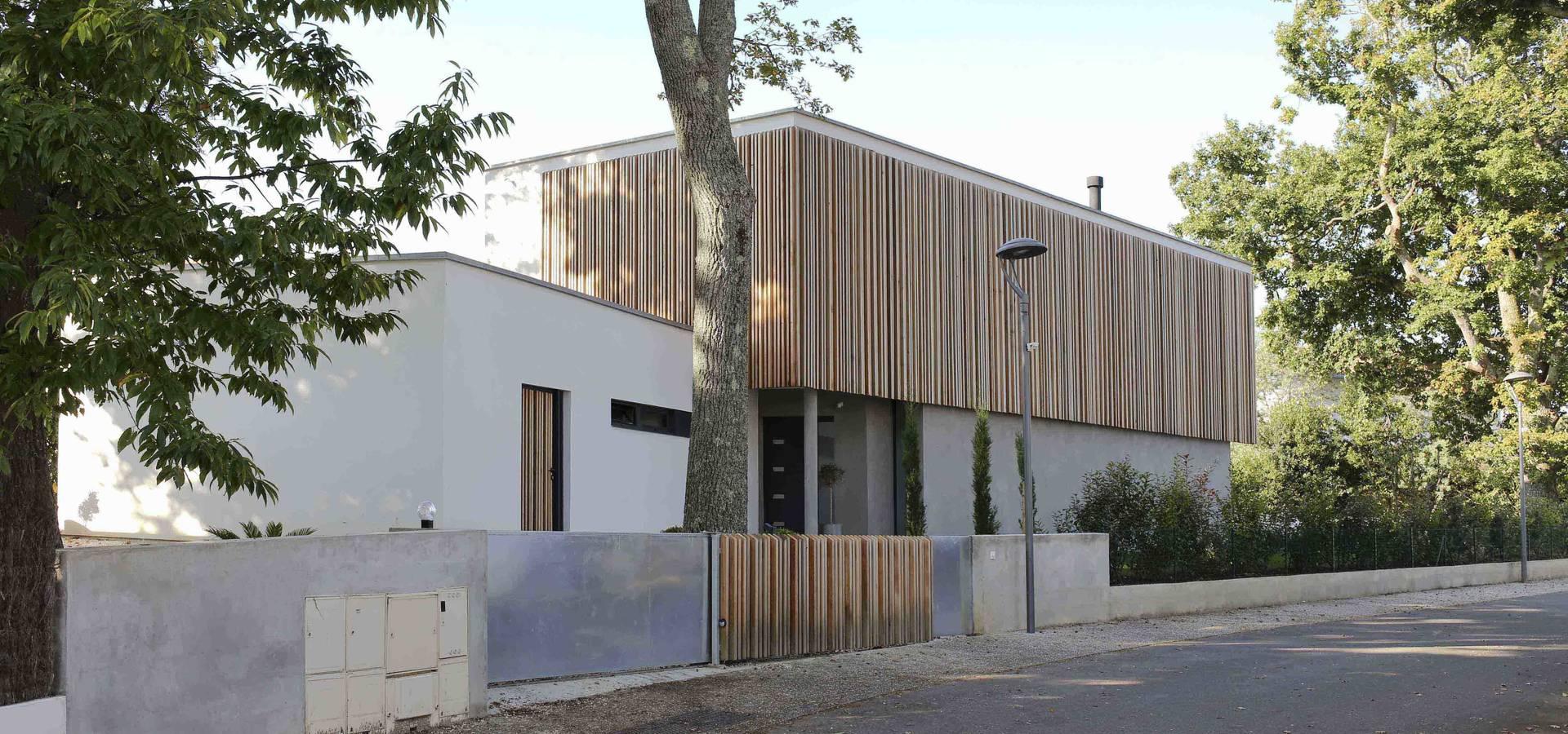 Maison neuve à Biarritz by Atelier d\'Architecture Christophe Létot ...