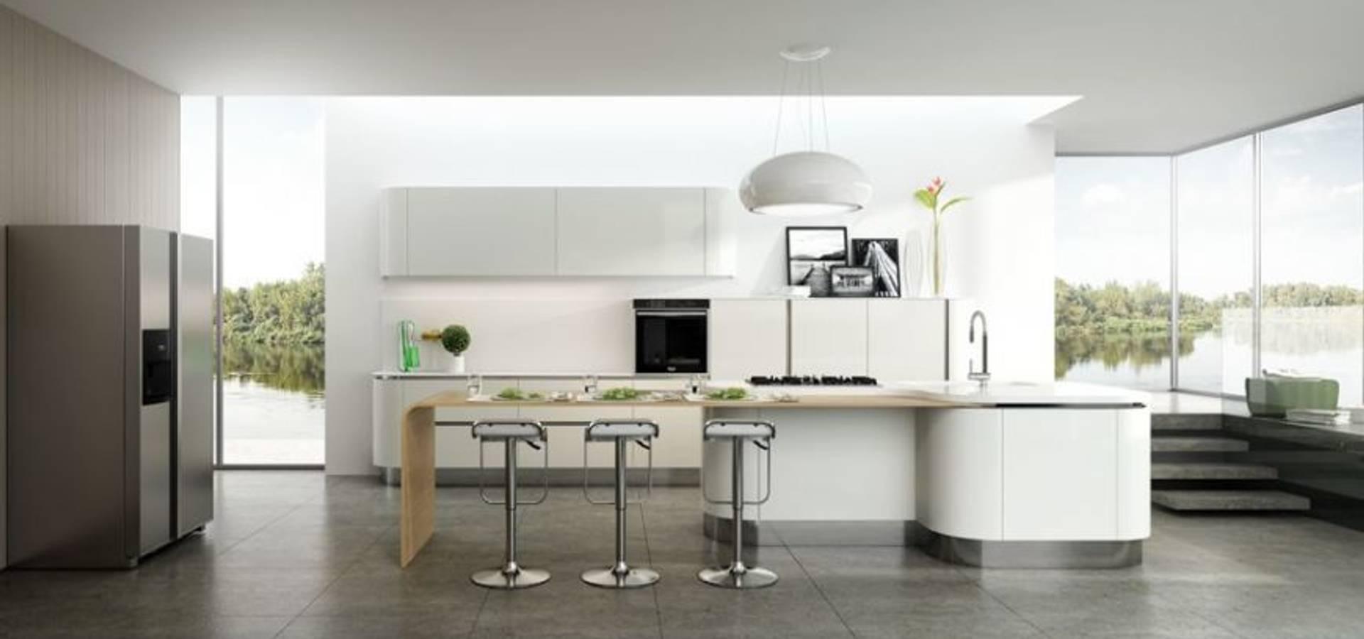 Diemme cucine mobili accessori a vitulazio ce italy homify - Mobili cucina con tendine ...