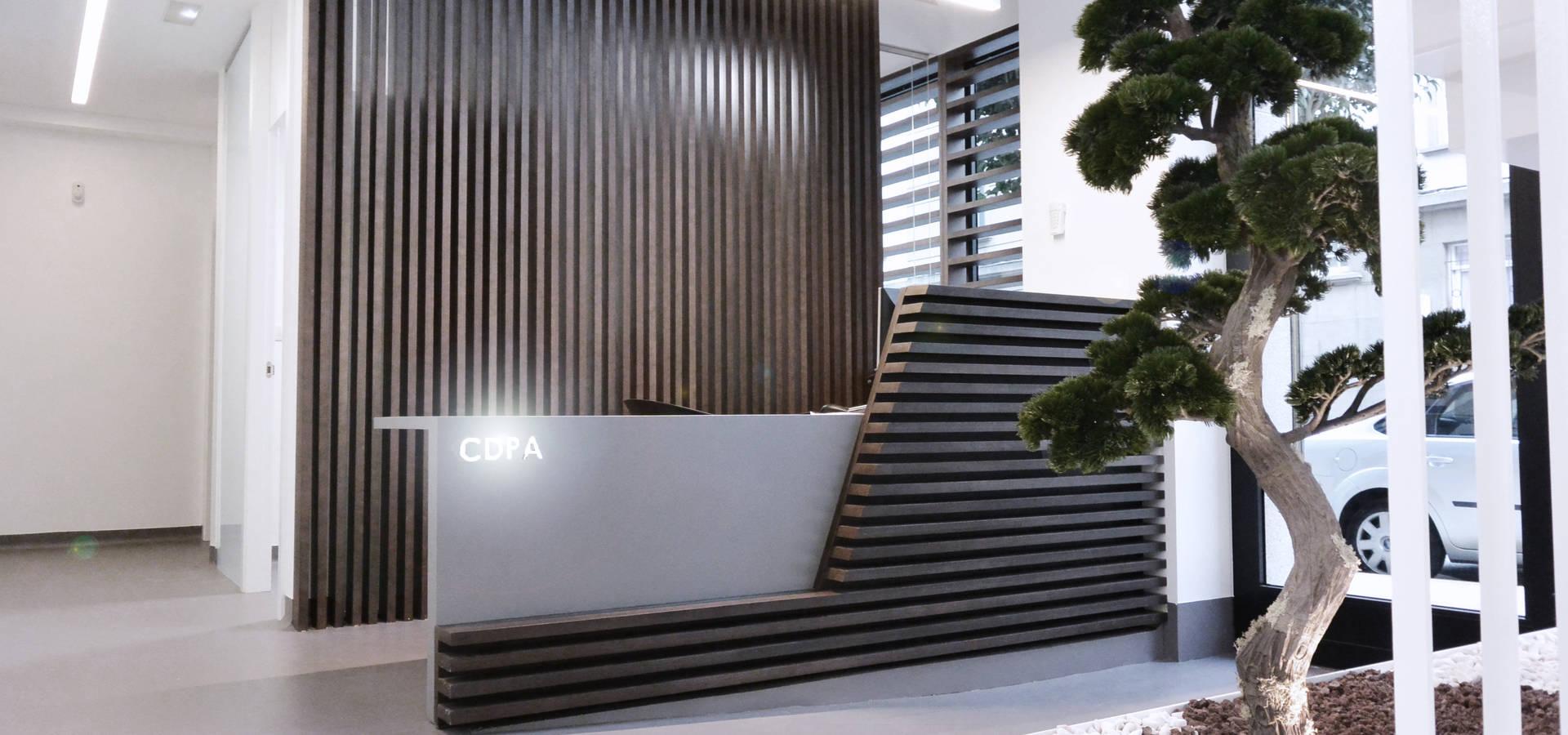 Diseño de interiores Clínica Dental Patricia Aneiros by César ...
