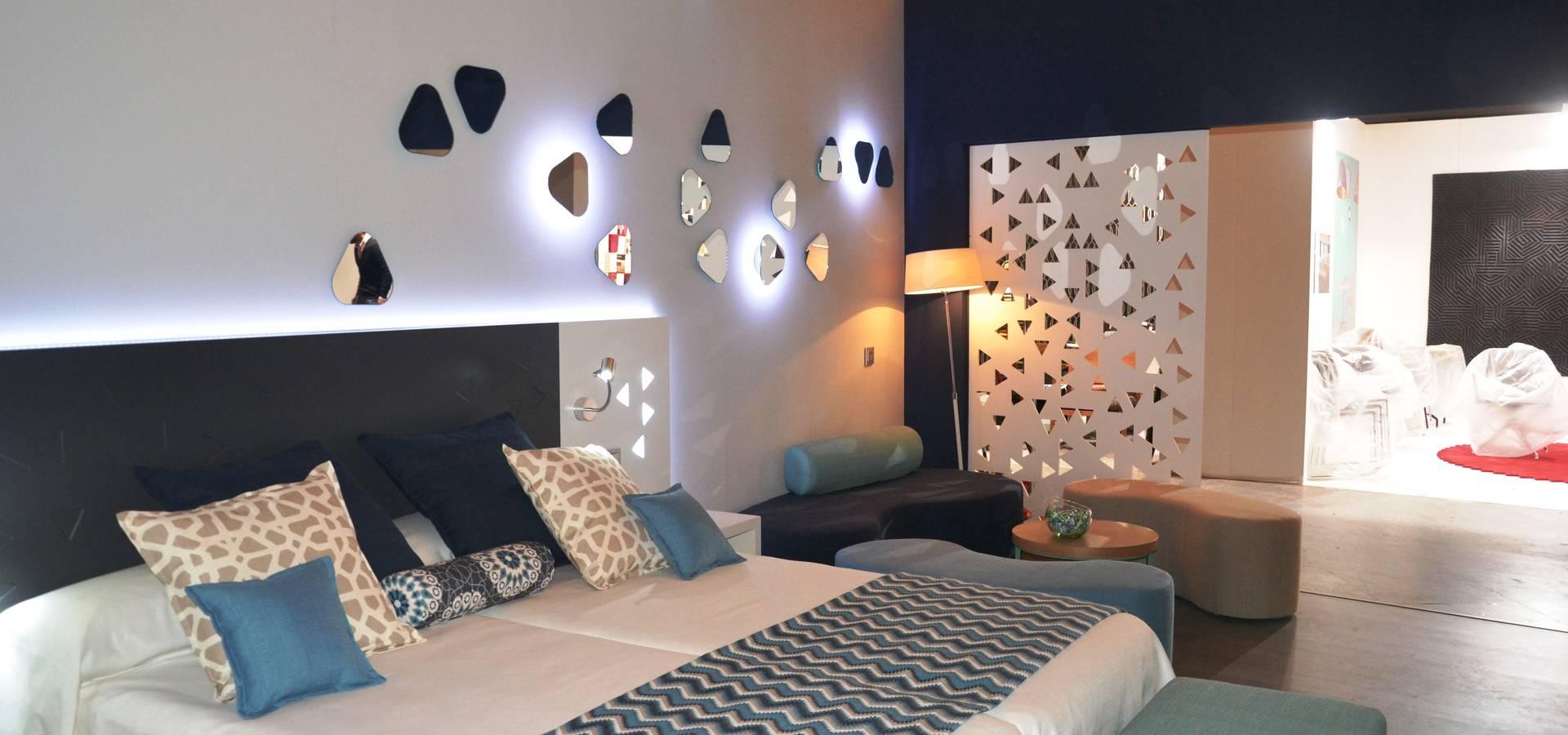 Dise O Del Stand Los Muebles Y El Interiorismo Para Mobenia Y  # Quartos Muebles