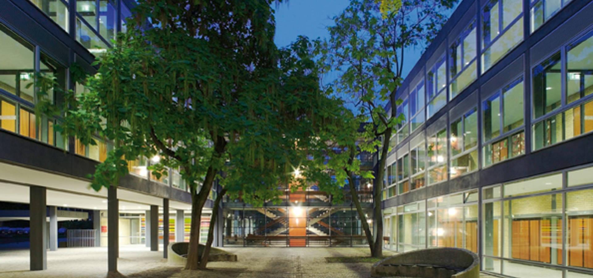 Neubau Hochschule Rhein-Waal, Kamp-Lintfort von Michael van Ooyen ...