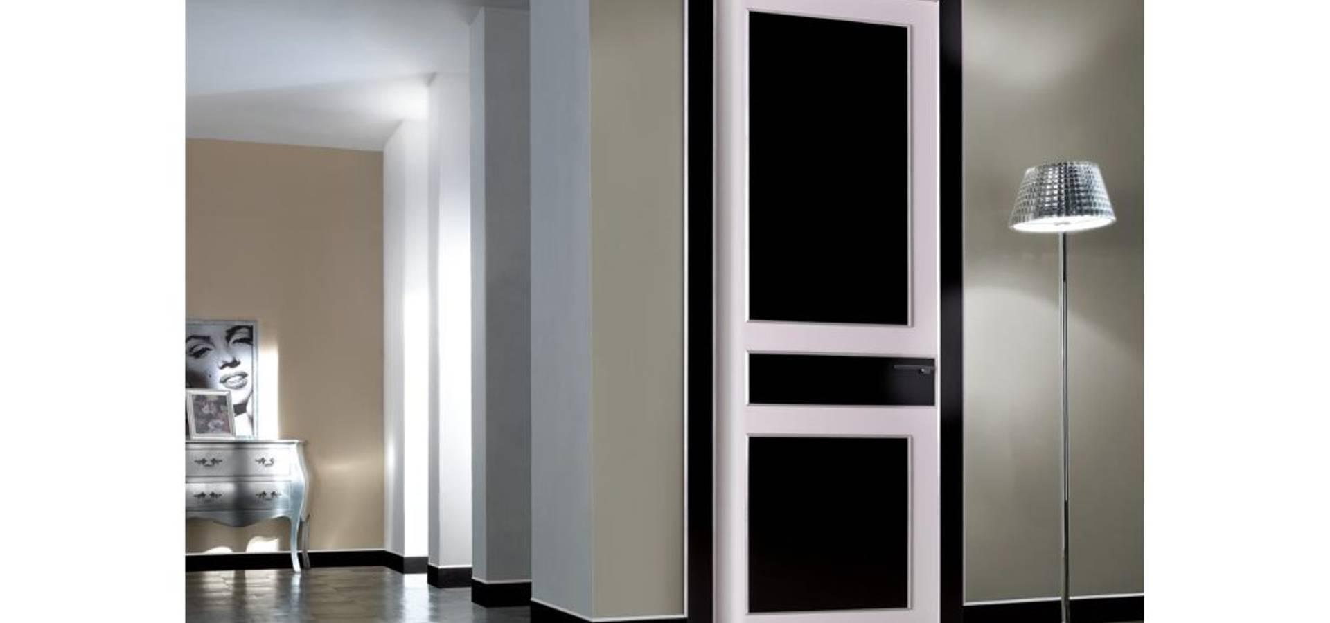 Porte interne in legno Linea EMPIRE by TONDIN PORTE SRL con unico ...