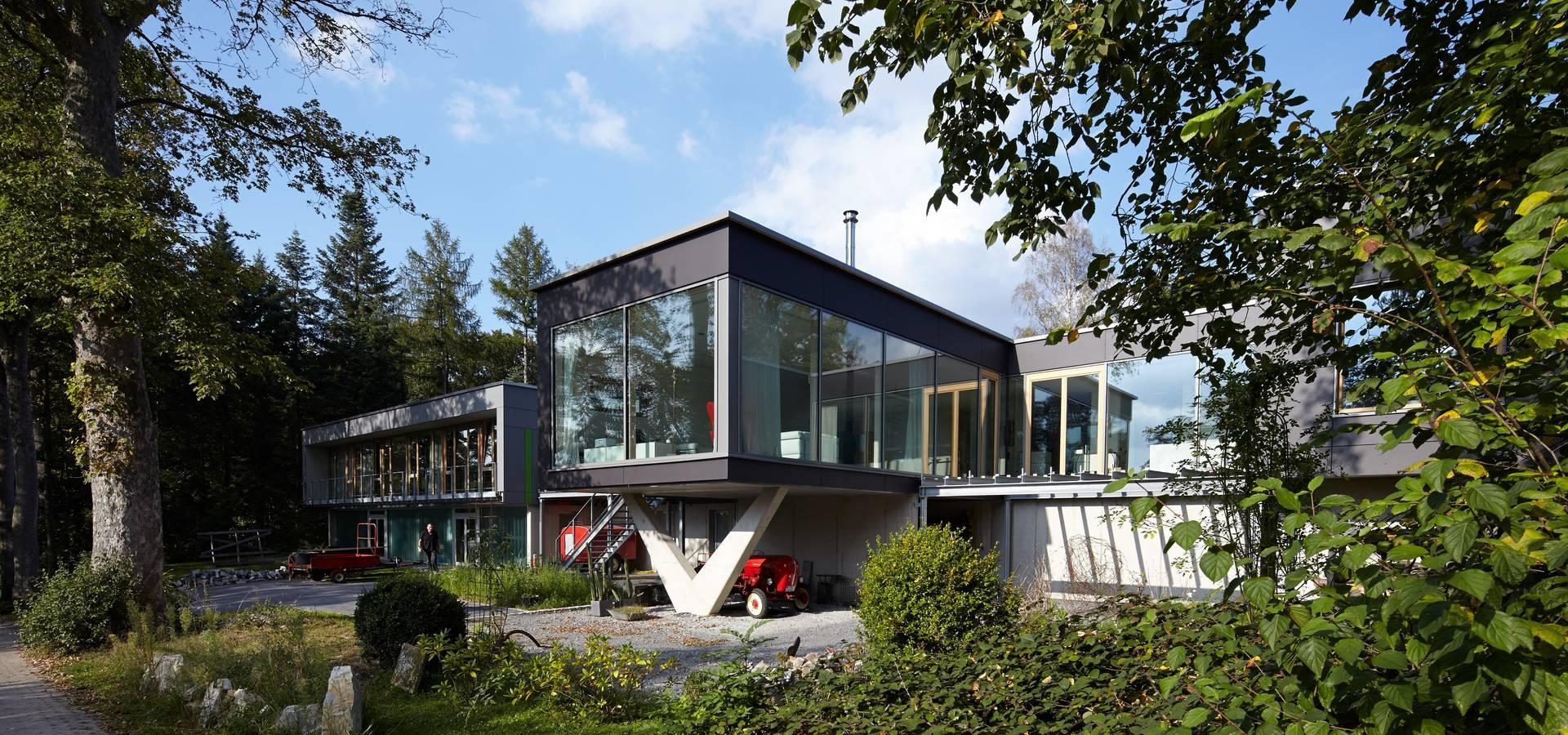 Schön Satteldach Modern Dekoration Von Völse Architekten Bda