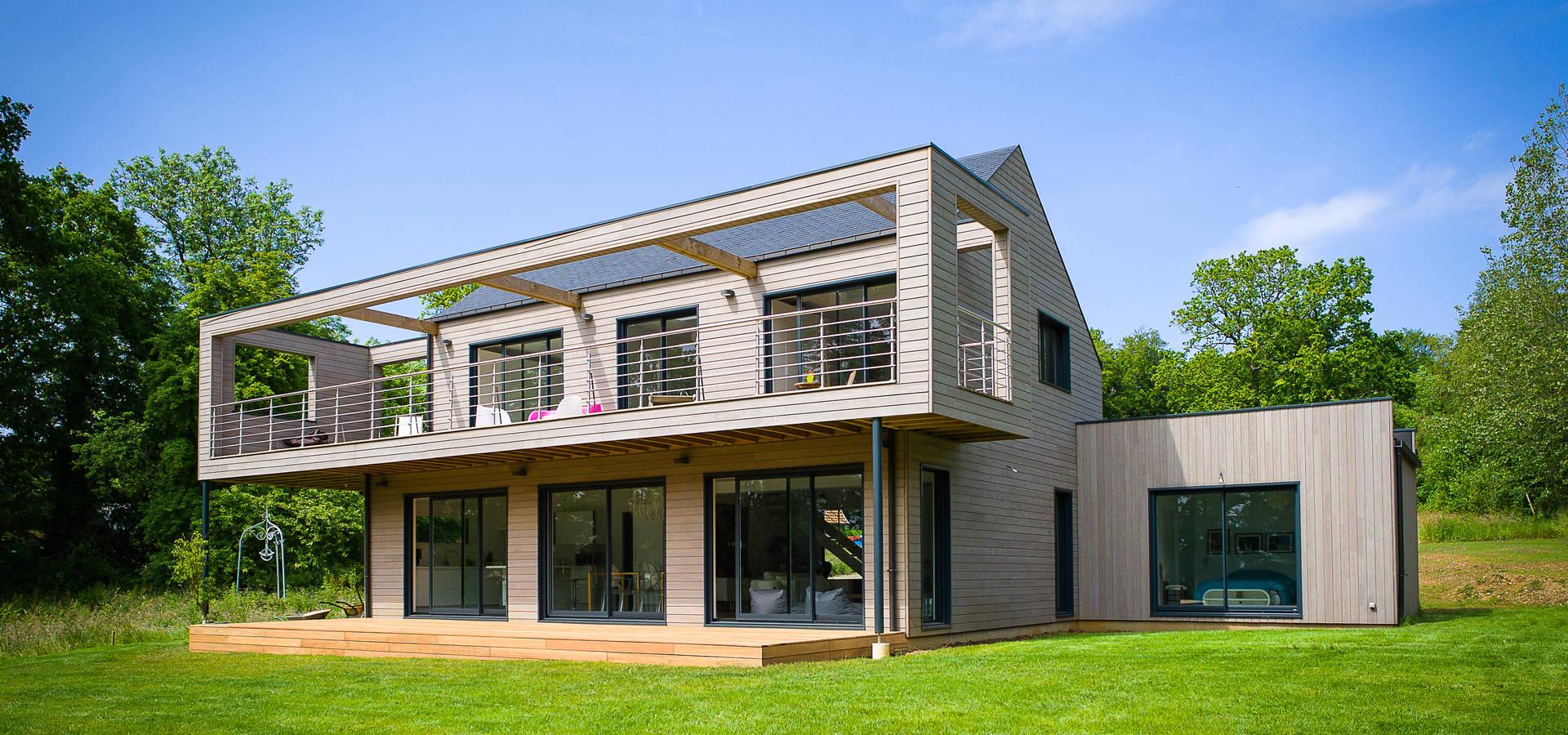 Maison En Bois Normandie construction d'une maison bois en haute normandieantoine