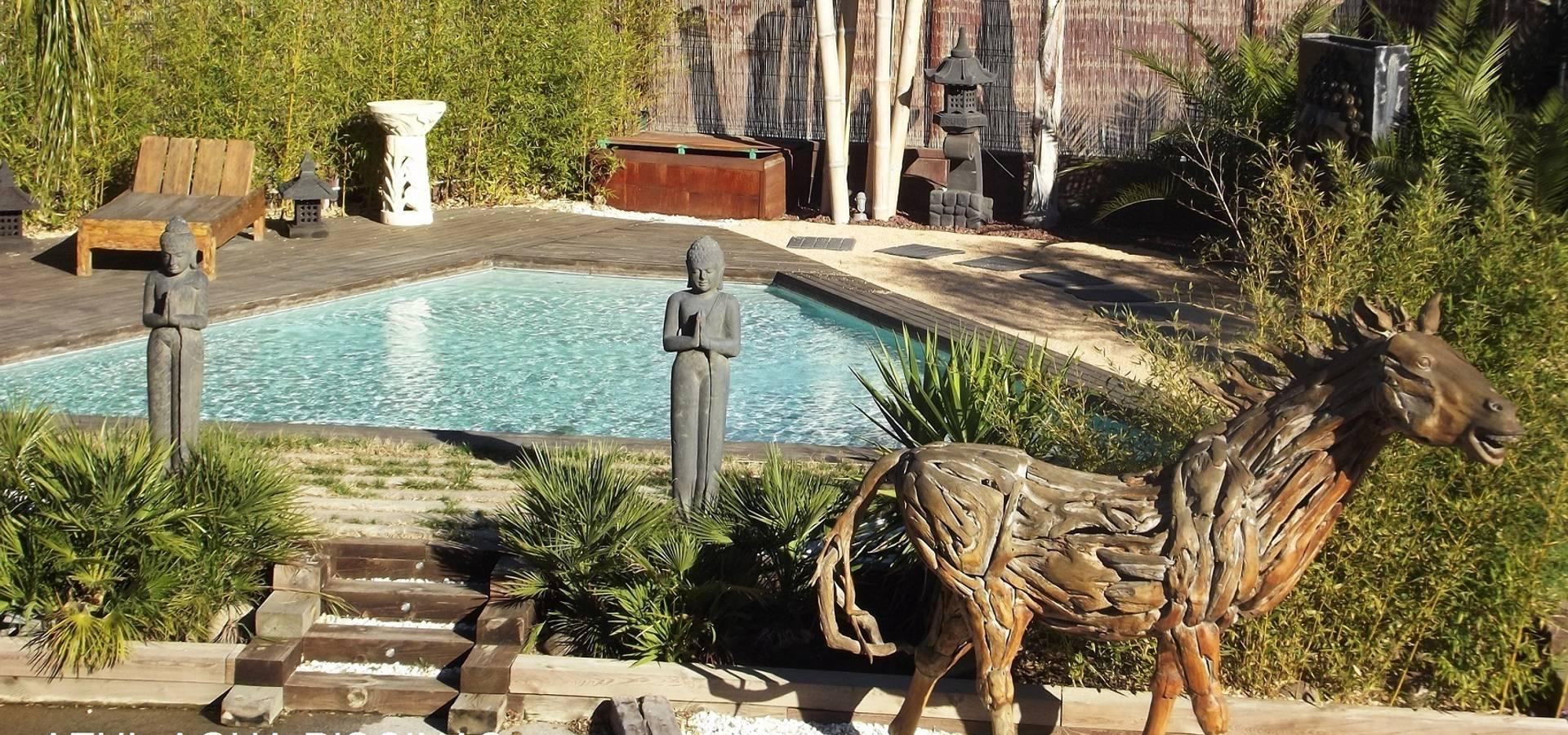 Piscinas azul agua piscinas y spa en barcelona homify - Spa aguas de barcelona ...