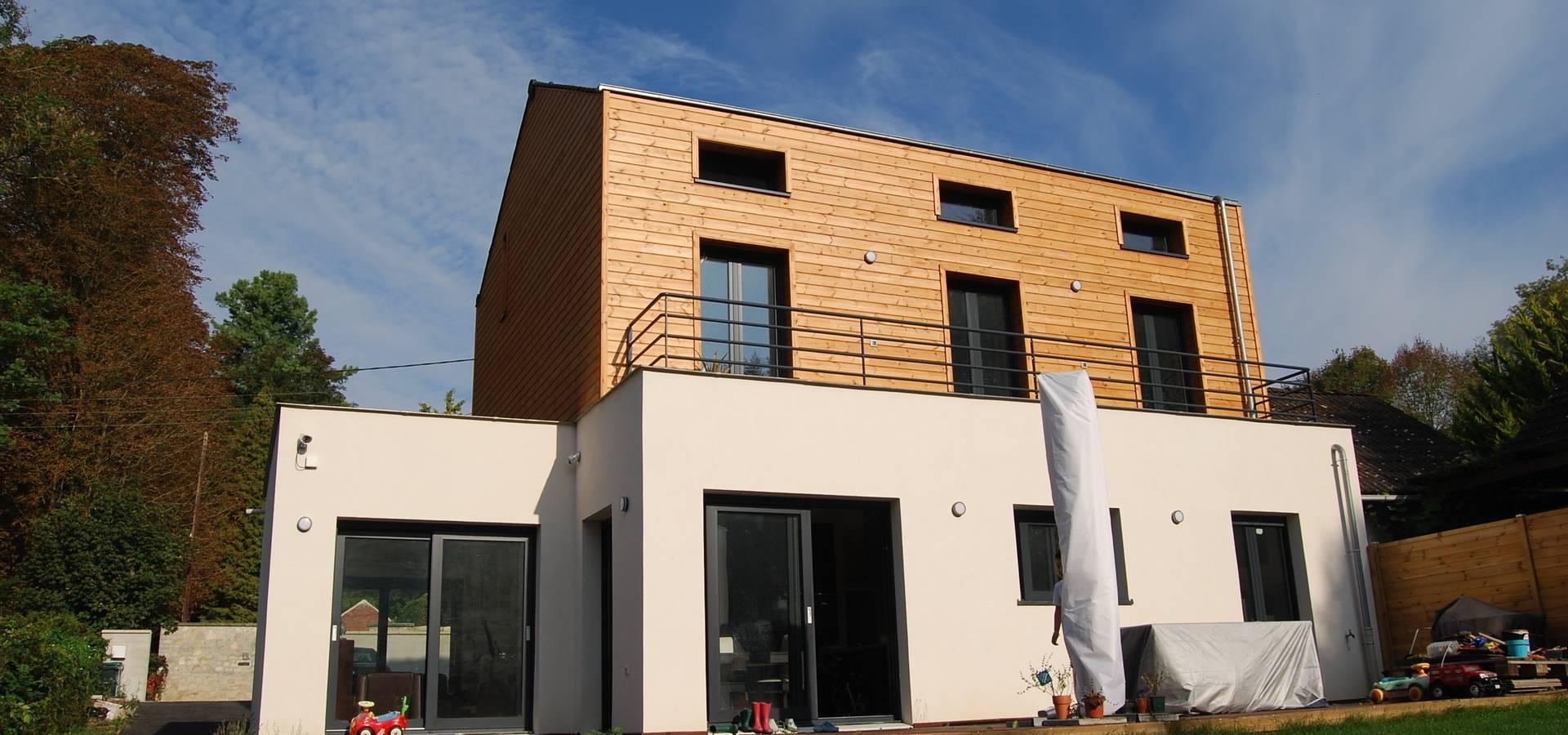 R novation et agrandissement d 39 une maison individuelle von for Agrandissement maison individuelle