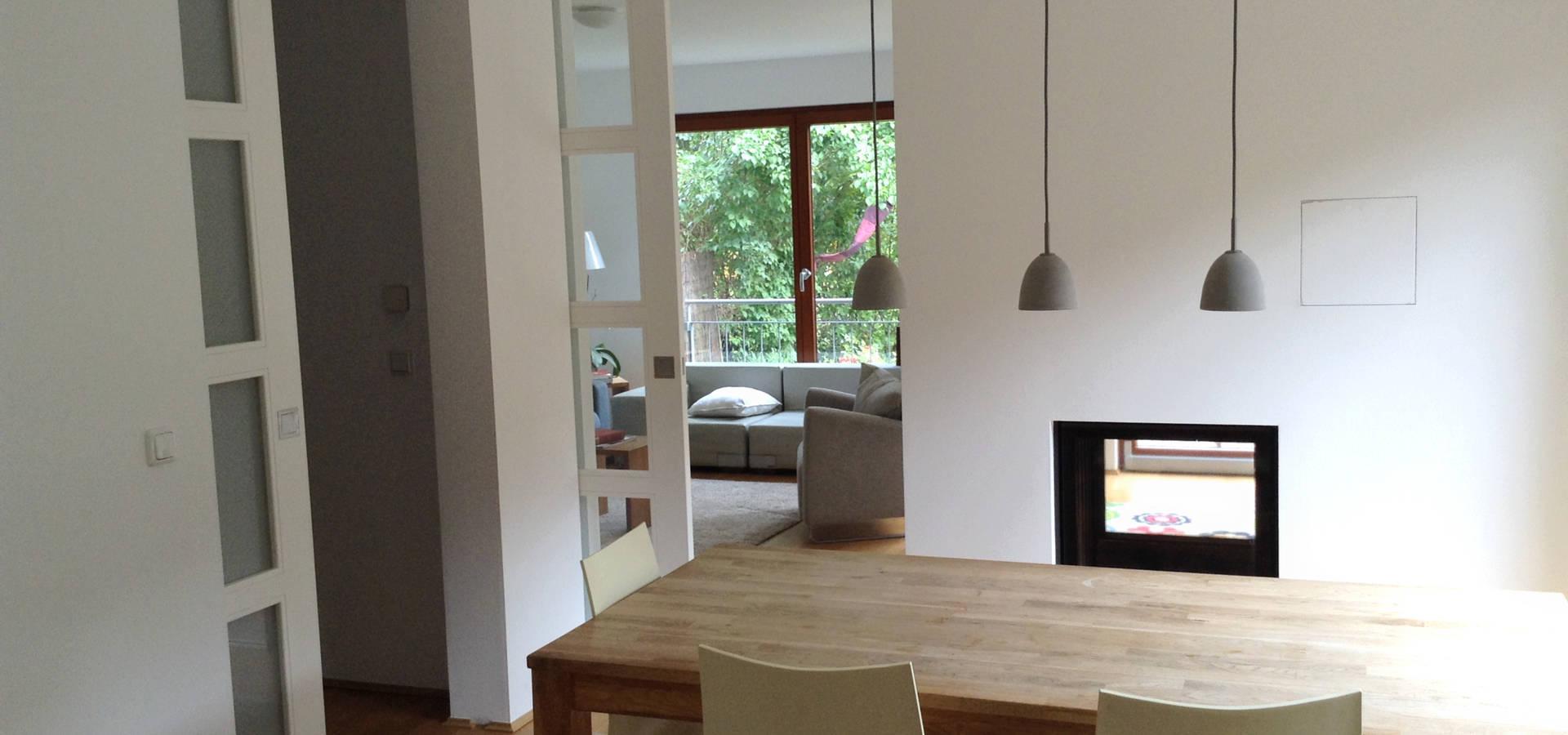 Umbau Wohnbereich Mit Offener Küche Von Das Werkhaus Langerwisch