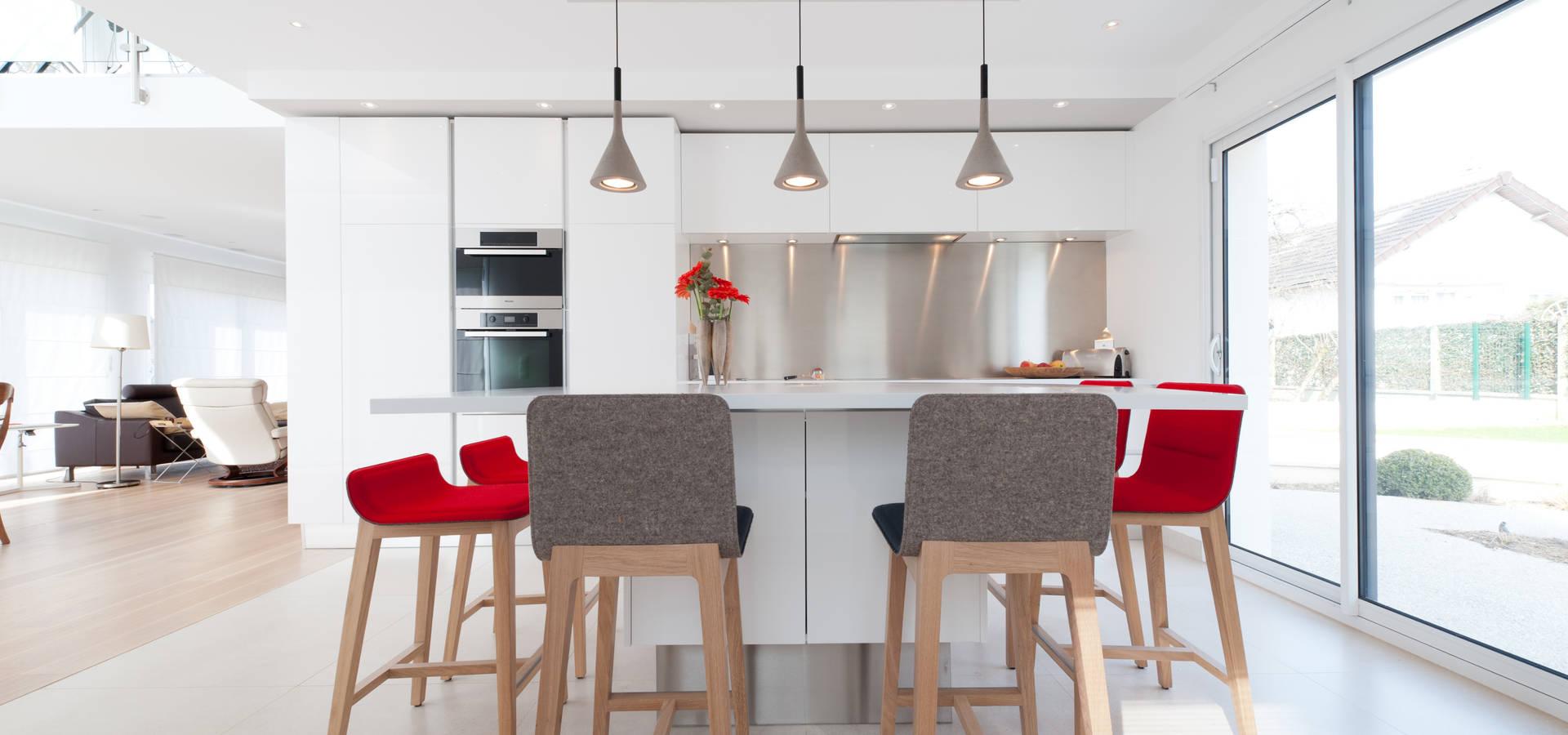 LA CUISINE DANS LE BAIN SK CONCEPT Cuisinistes à PARIS Sur Homify - La cuisine dans le bain