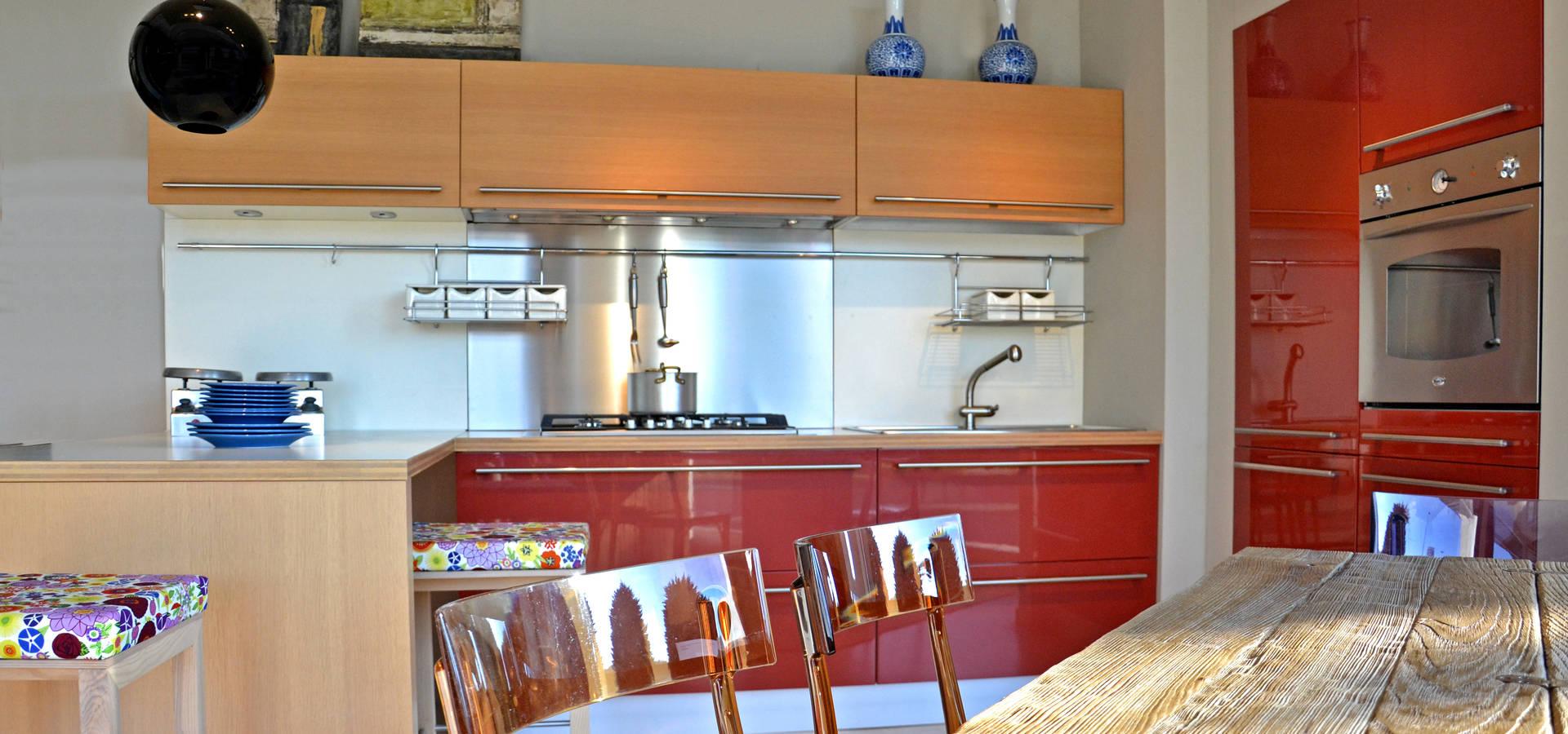 Cucine soggiorni di architetti di casa homify for Case di architetti