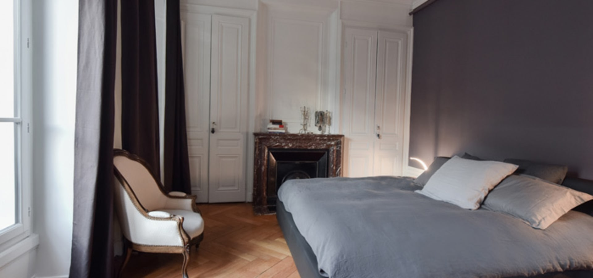 marion lano architecte d 39 int rieur r novation d 39 un appartement haussmannien lyon 06 homify. Black Bedroom Furniture Sets. Home Design Ideas