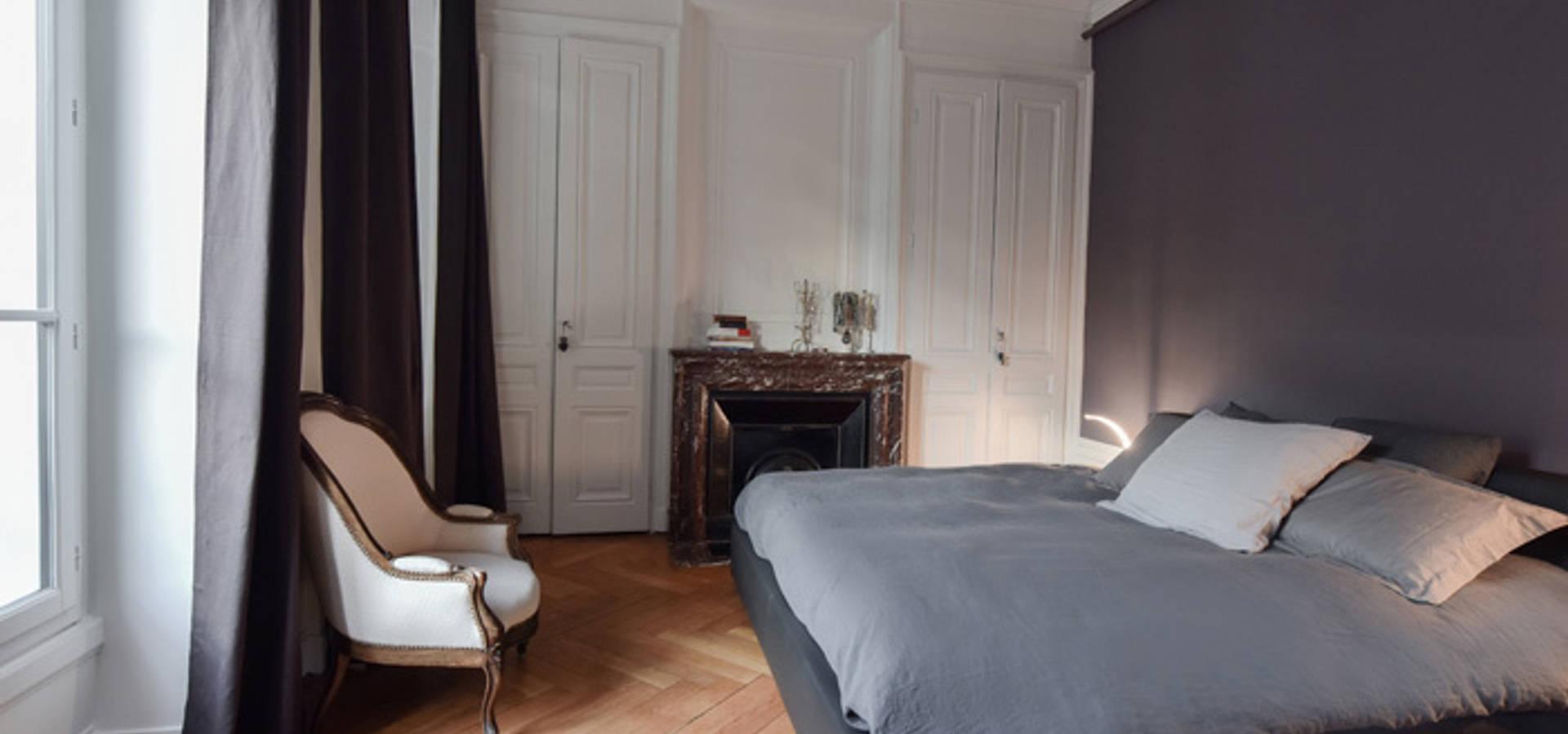 Rénovation d\'un appartement haussmannien à Lyon 06 by Marion Lanoë ...
