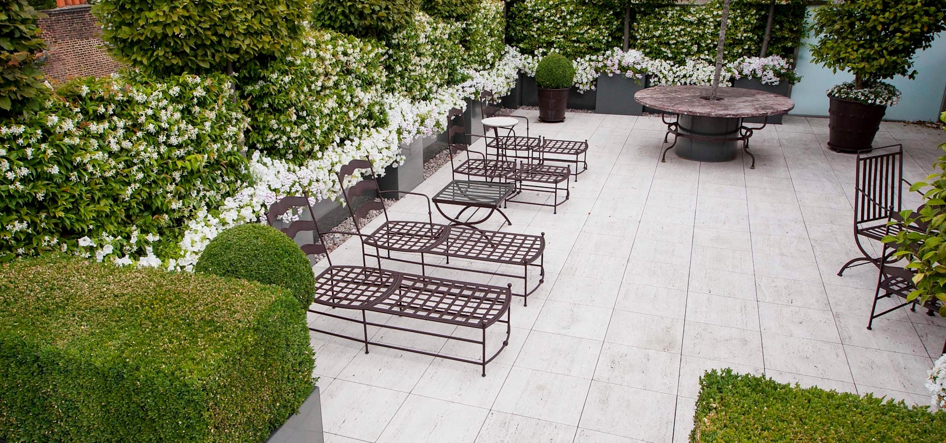 Kew roof terrace by cameron landscapes and gardens homify for Garden design questions