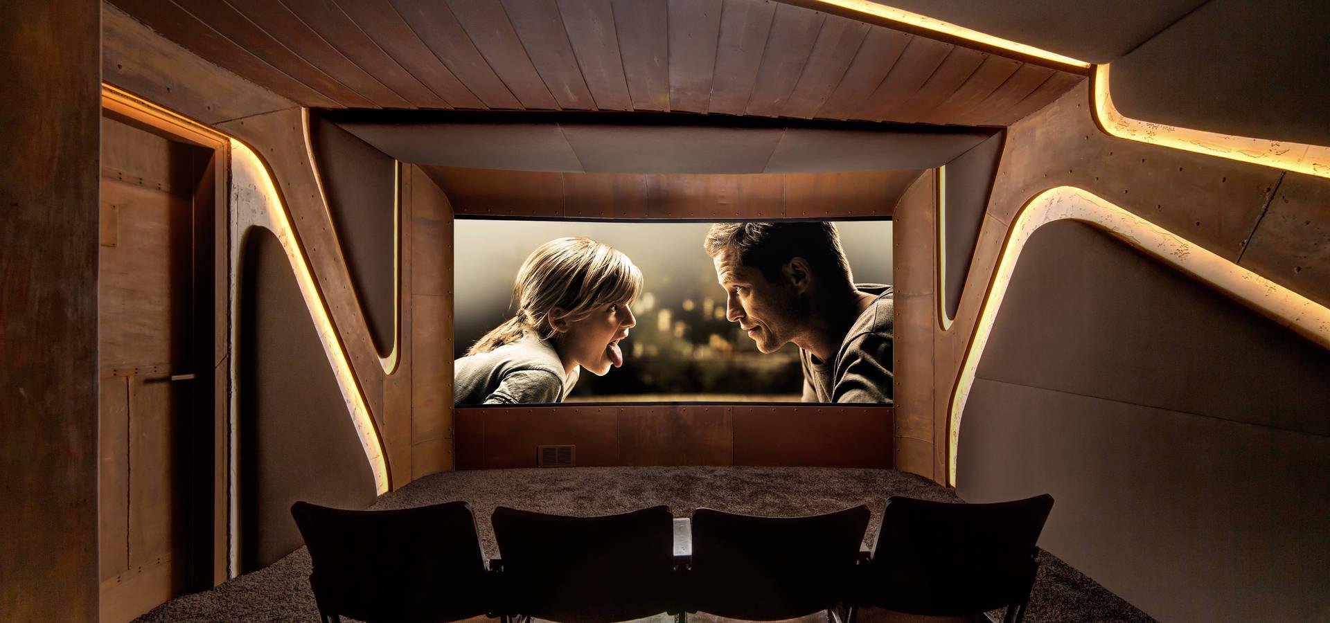 8SEC. - SHOWROOM HOME CINEMA von Barefoot Design | homify