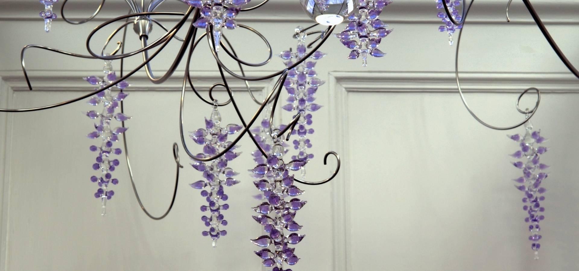 Neil Wilkin Bespoke chandeliers & Glass Sculpture