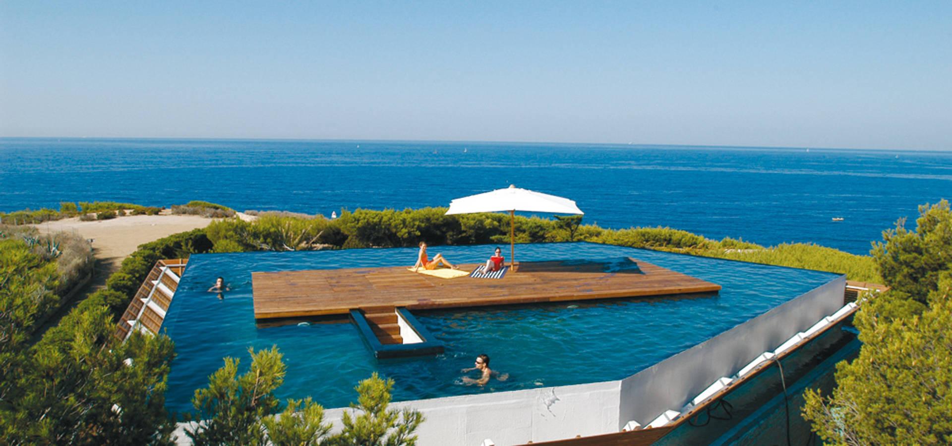 Maison Piscine, St Cyr sur Mer von MOA architecture | homify