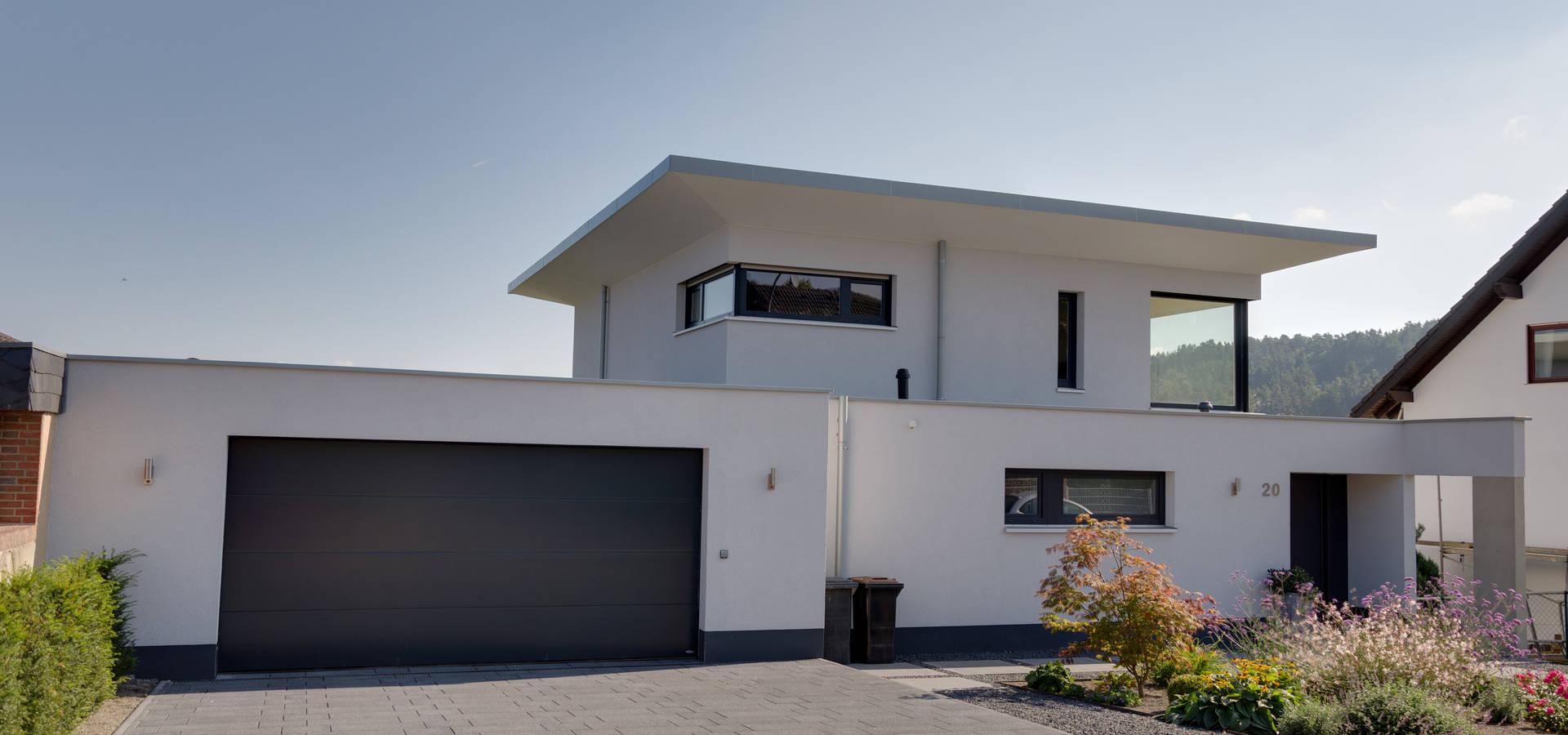 Neubau Eines Einfamilienhauses Im Bauhausstil In K 246 Ln Door