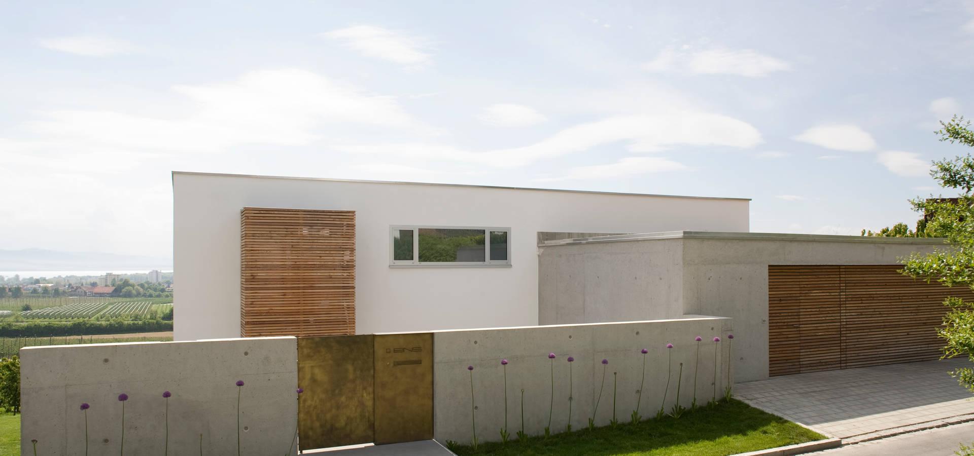 wohnhaus am see de gms freie architekten isny. Black Bedroom Furniture Sets. Home Design Ideas