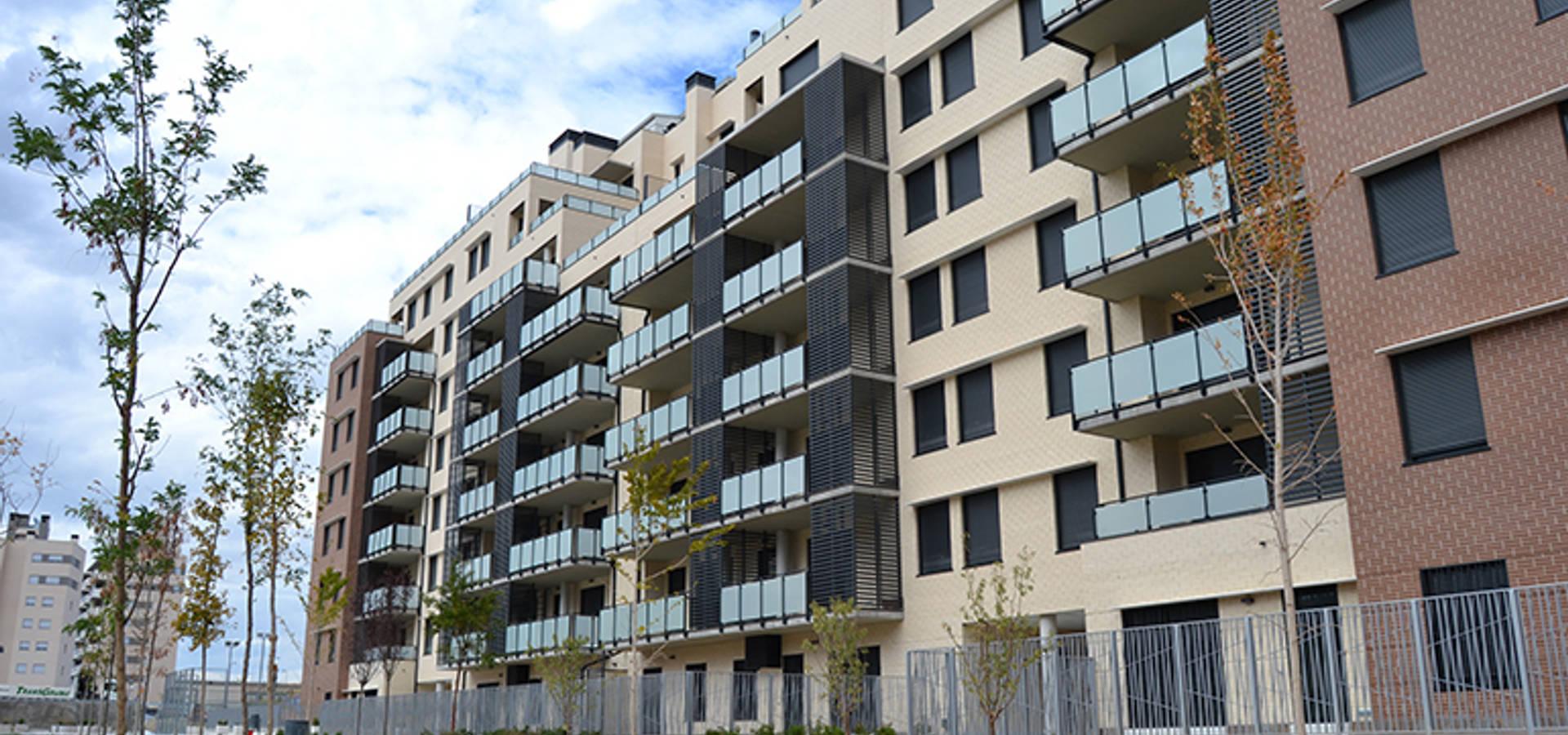 Edificio de viviendas en nuevo tres cantos de alia arquitectura energ a y medio ambiente homify - Viviendas tres cantos ...