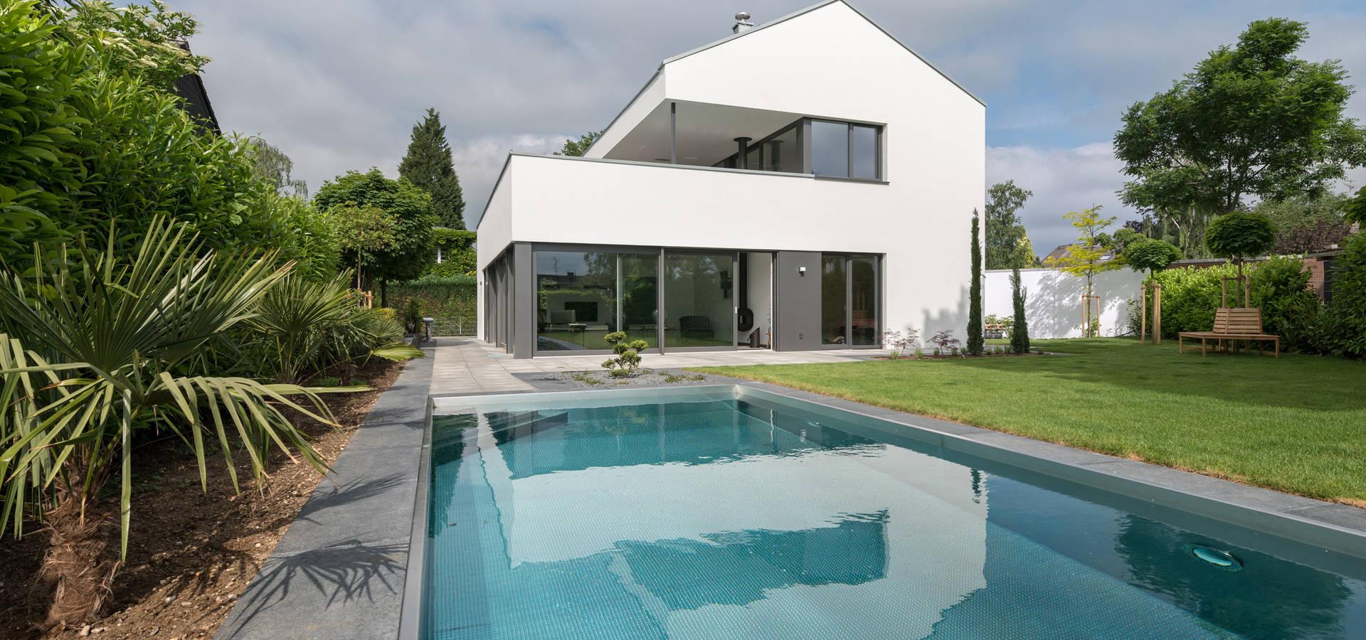 haus m neuss von schmitz architekten gmbh homify. Black Bedroom Furniture Sets. Home Design Ideas
