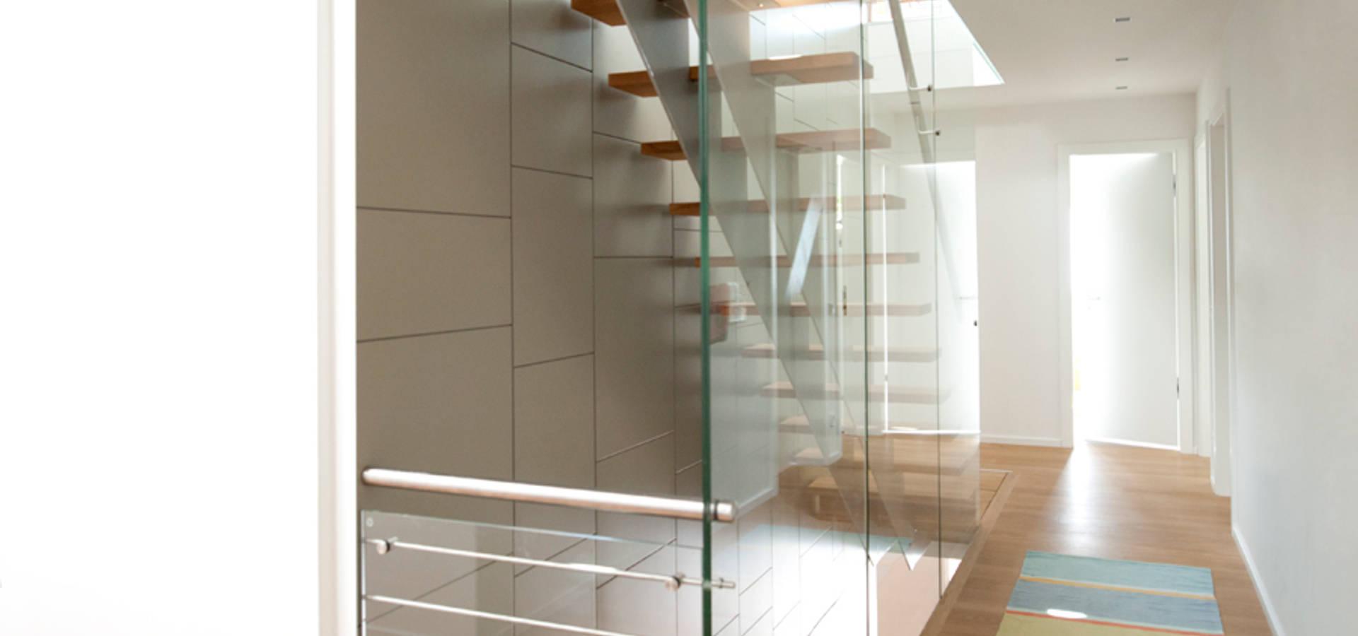 Doppelgarage  Architekturbüro J. + J. Viethen: Neubau Einfamilienhaus mit ...