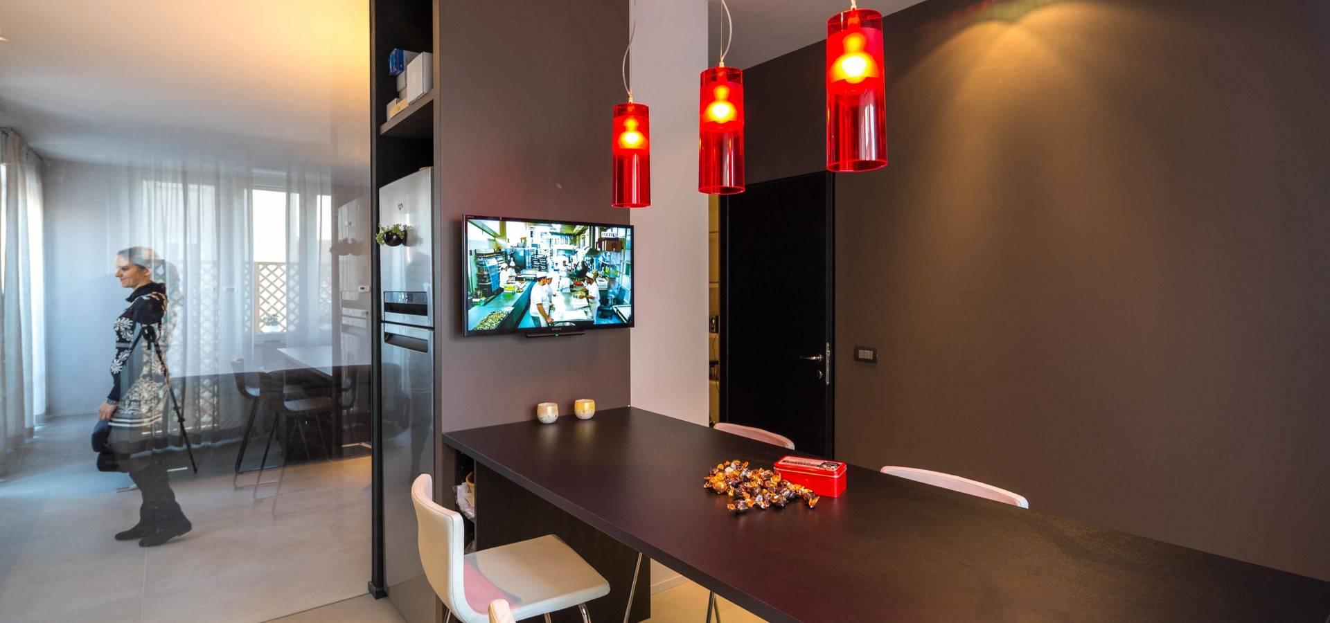 Ristrutturazione appartamento parma di architetto for Metraggio di appartamento studio