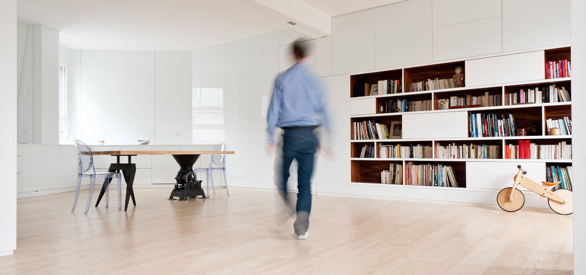 appartement n 4 par julien joly architecture homify. Black Bedroom Furniture Sets. Home Design Ideas