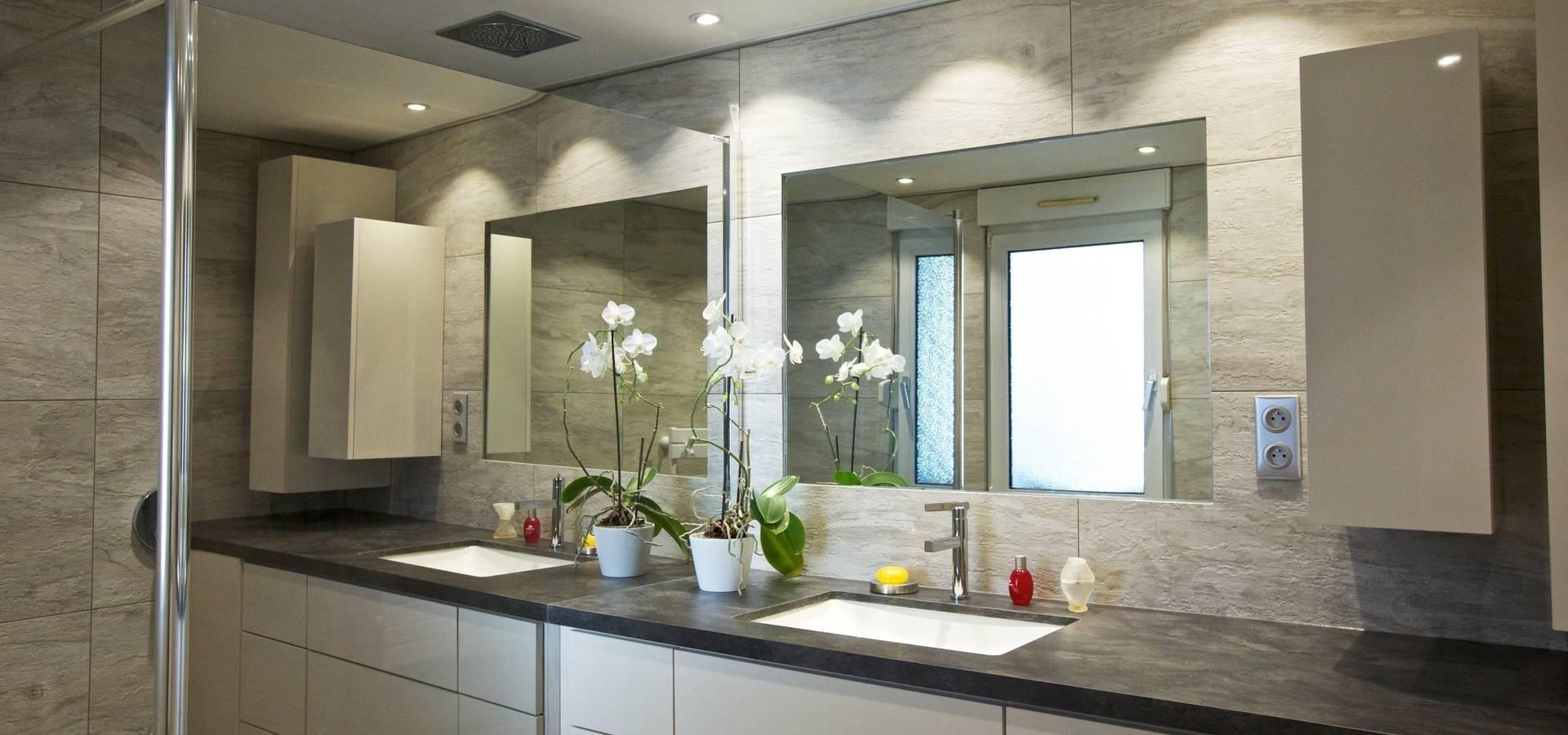 Salle De Bain Com salle de bain dupea3 design | homify