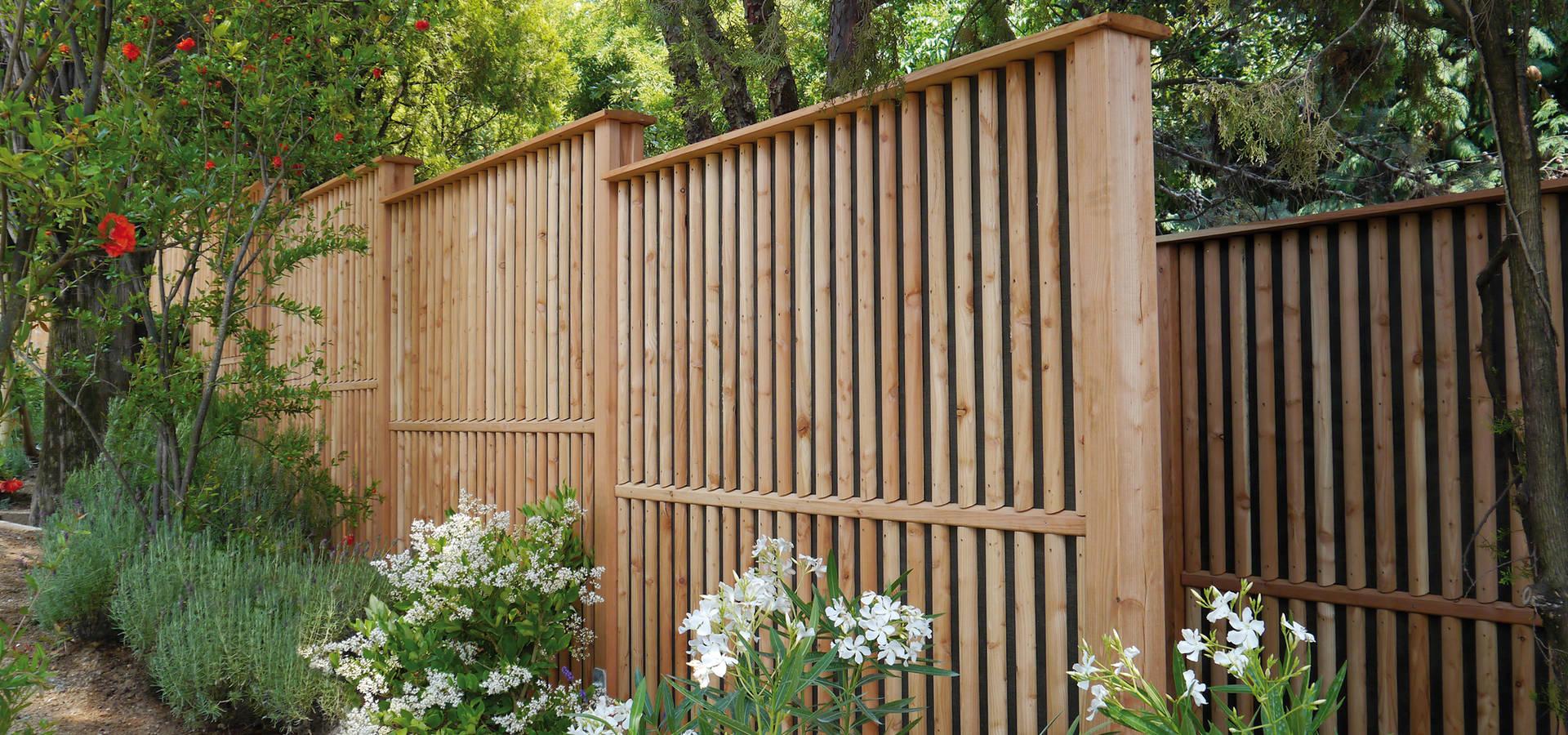 Braun & Würfele—Holz im Garten