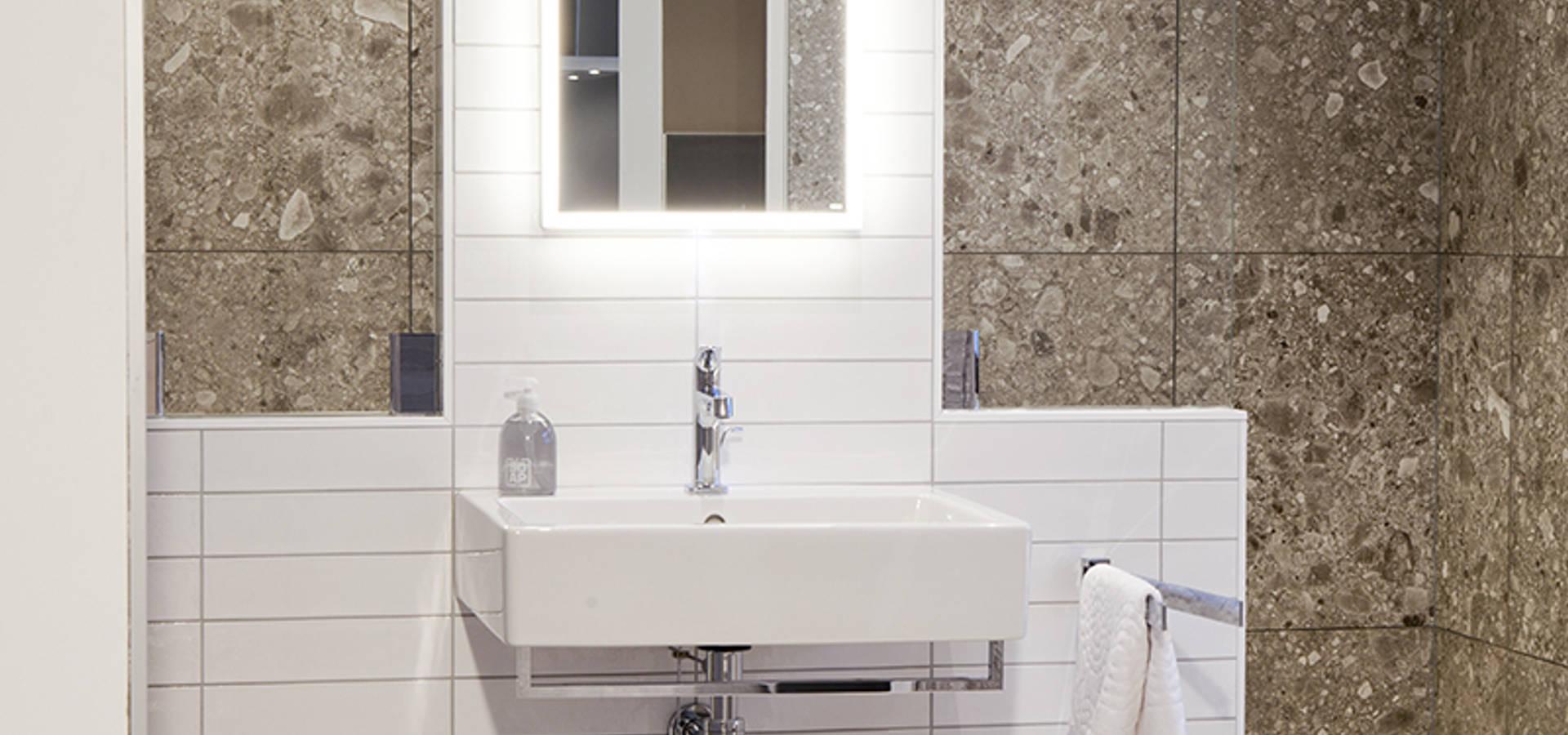 Natuurlijke badkamer door Van Wanrooij keuken, badkamer & tegel ...