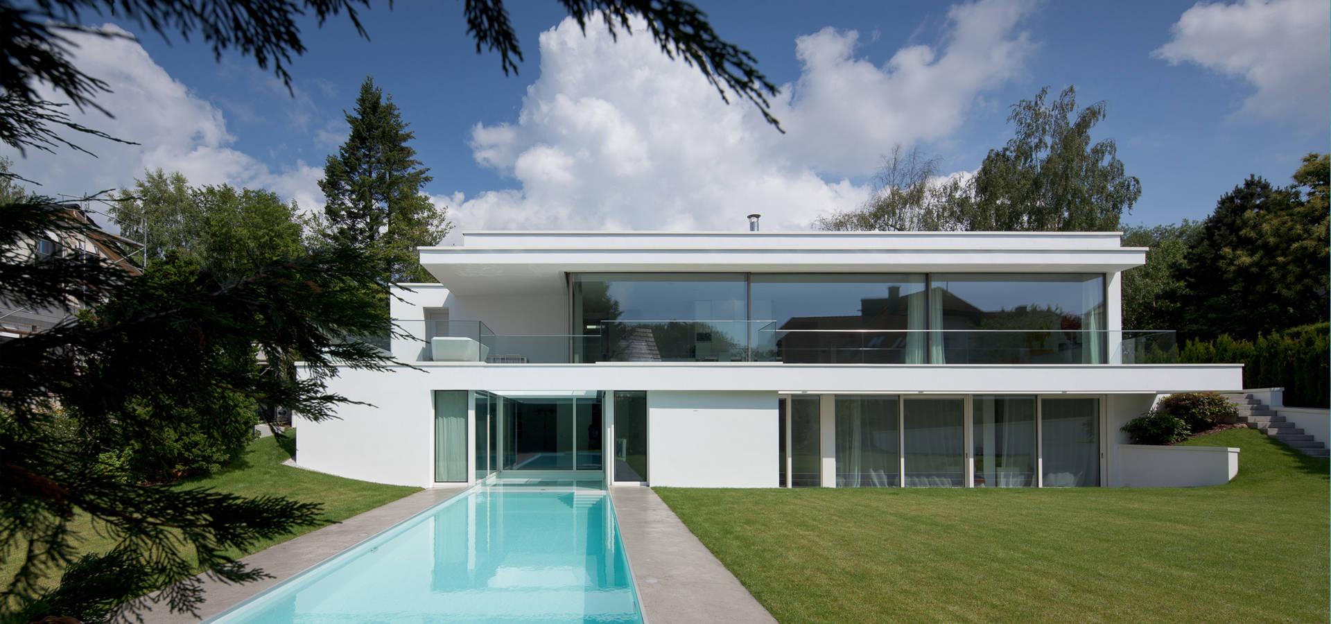 Villa p par philipp architekten anna philipp homify - Philipp architekten ...