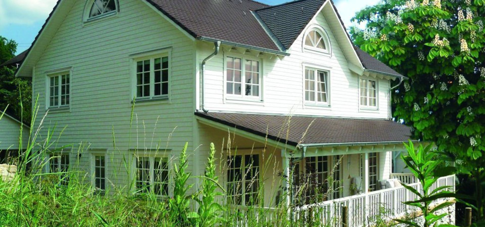 Faszinierend Haus Mit Veranda Sammlung Von Skan-hus Gmbh
