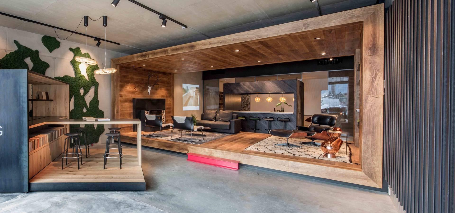 Standard studio amsterdam showroom design hakwood for Industrial design amsterdam