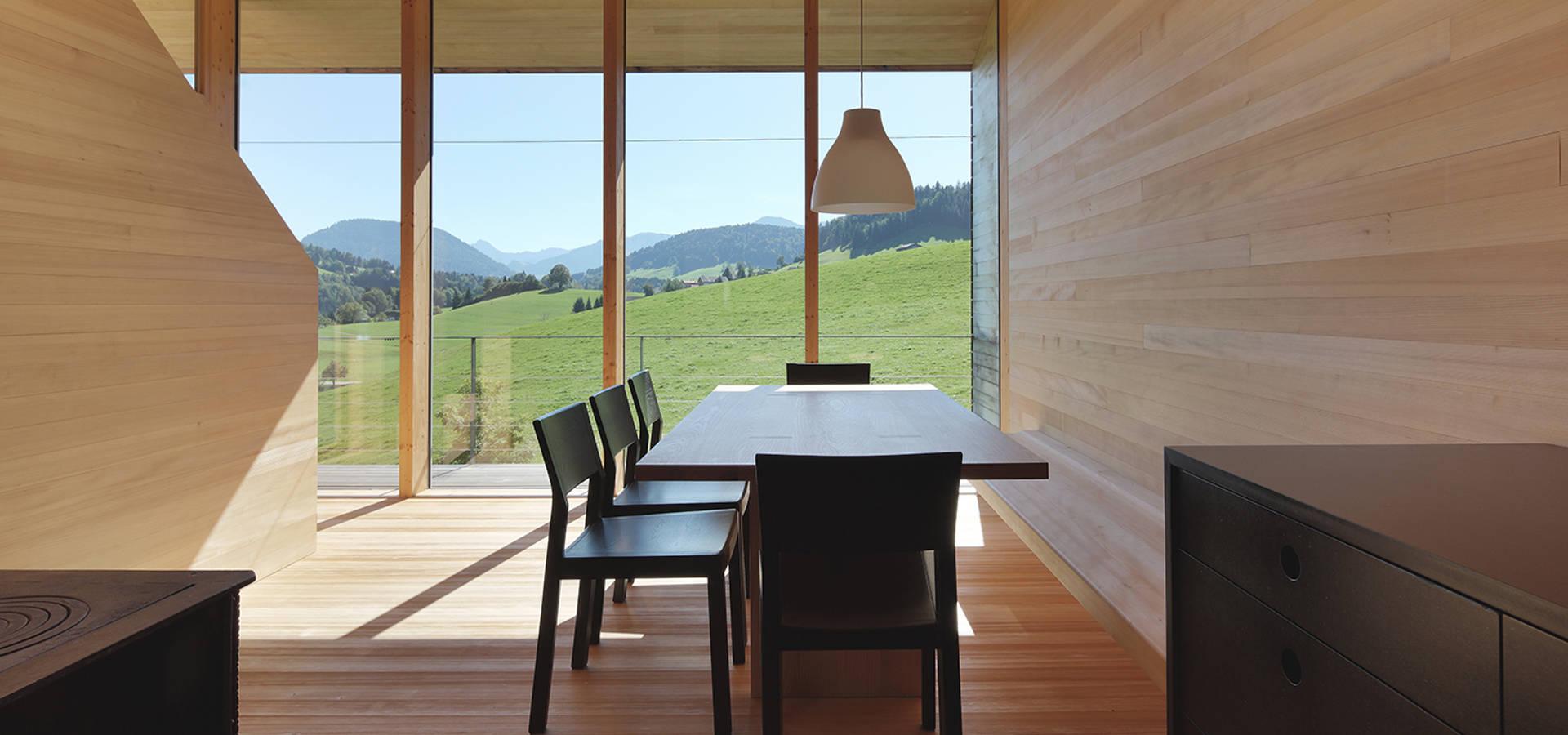 Bienenhus ferienhaus in vorarlberg por yonder for Architektur und design