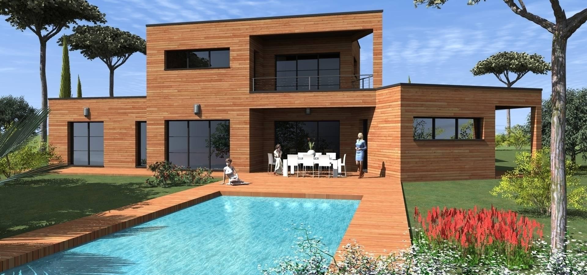 Construire online plan decima villa moderne homify for Construire online