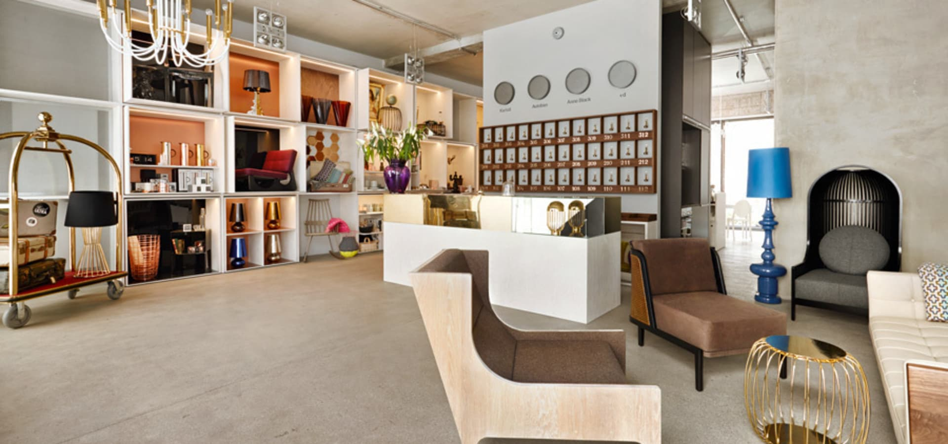hotel ultra concept store m bel accessoires in berlin homify. Black Bedroom Furniture Sets. Home Design Ideas