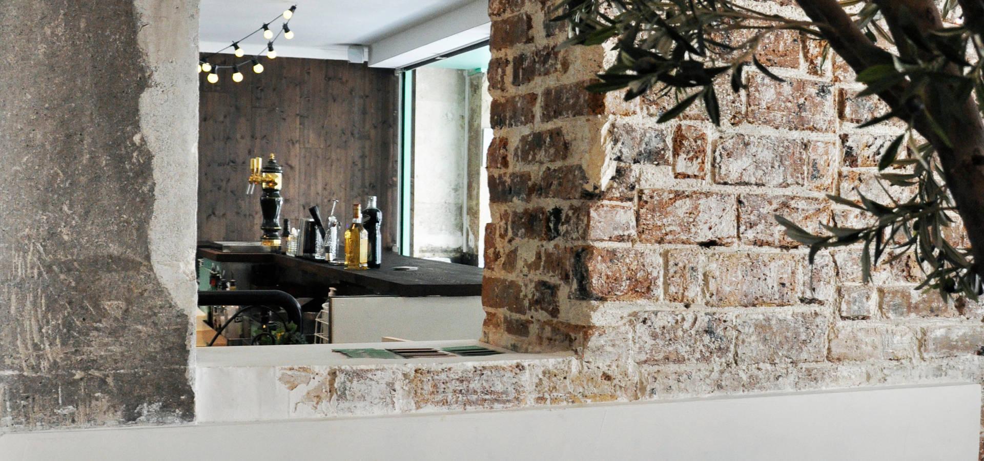 la cicciolina restaurant paris par f lsom homify. Black Bedroom Furniture Sets. Home Design Ideas