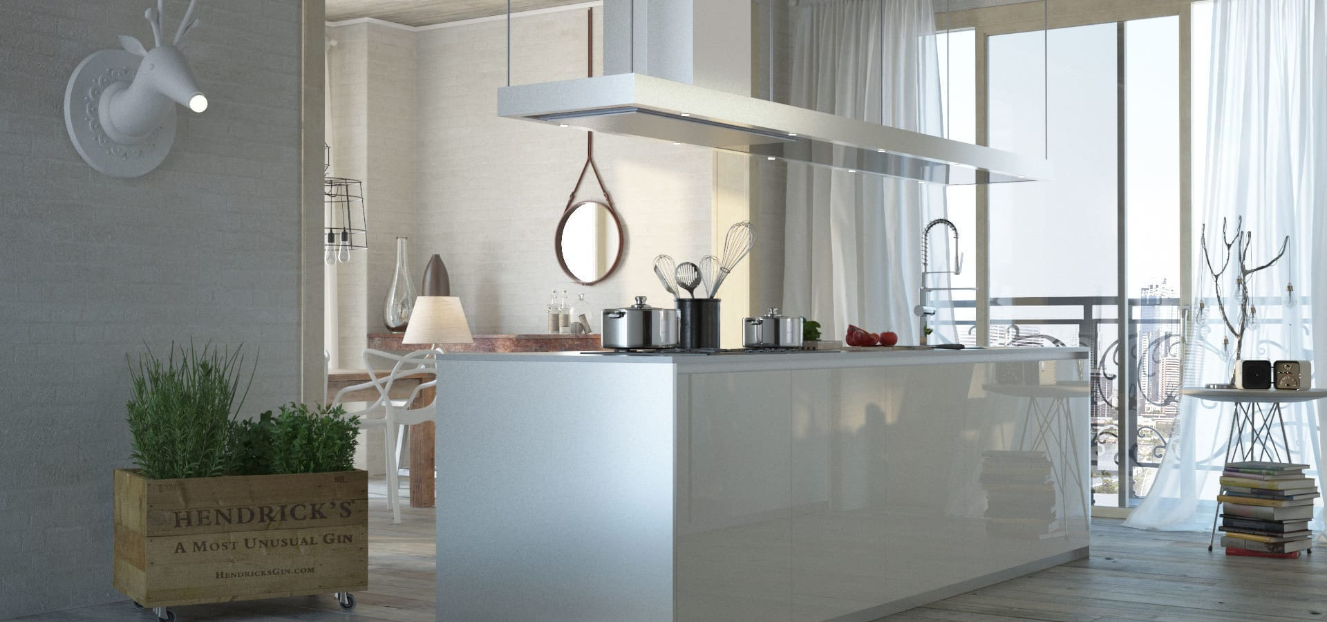 Cucina Total White by Onlydesign | homify