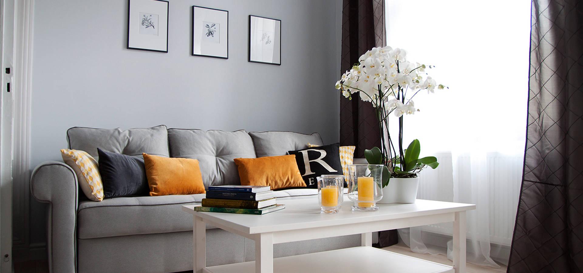 Grey shade interiors