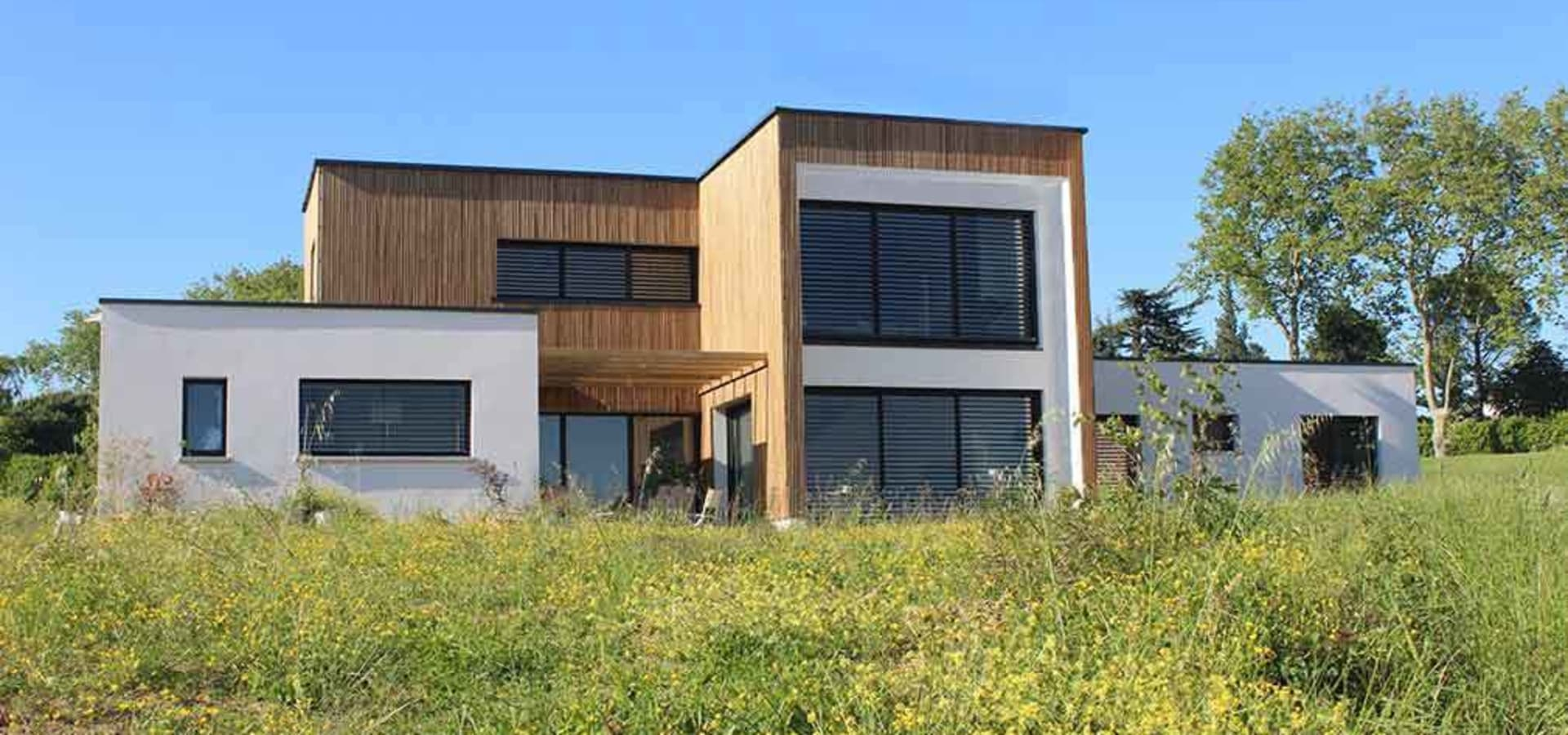 maison individuelle bbc toit terrasse v g talis by. Black Bedroom Furniture Sets. Home Design Ideas