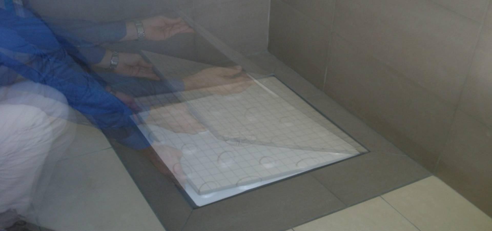 Resina Per Rivestire Piatto Doccia.Piatti Doccia Filo Pavimento Rivestiti In Gres Mosaic Marmo