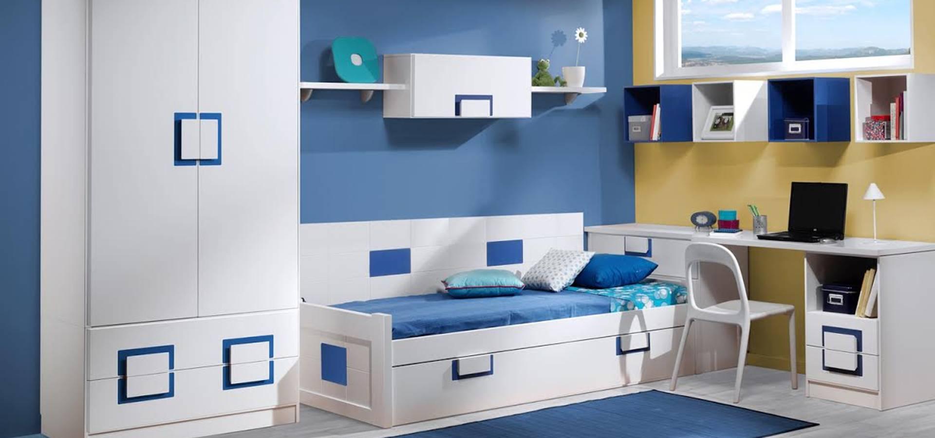 Dormitorios jueveniles de muebles tante homify for Muebles tante