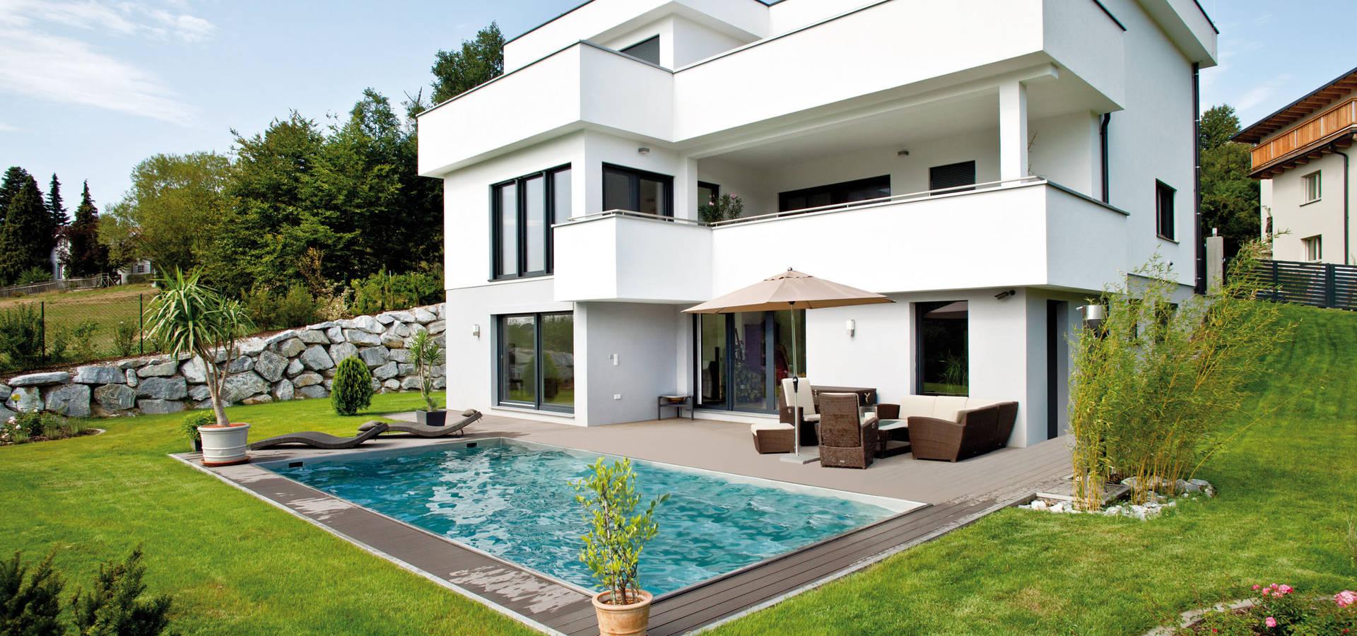 Fertighaus modern fertighaus bungalow s with fertighaus for Fertighaus modern