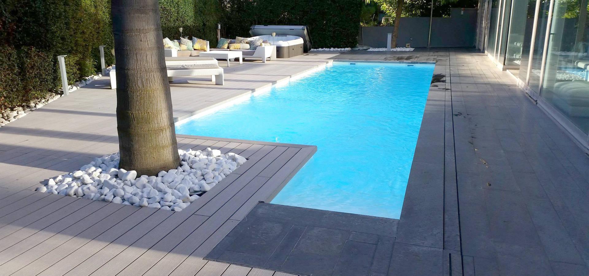 Piscina color gris oscuro renolit alkorplan2000 de renolit - Gresite piscinas colores ...
